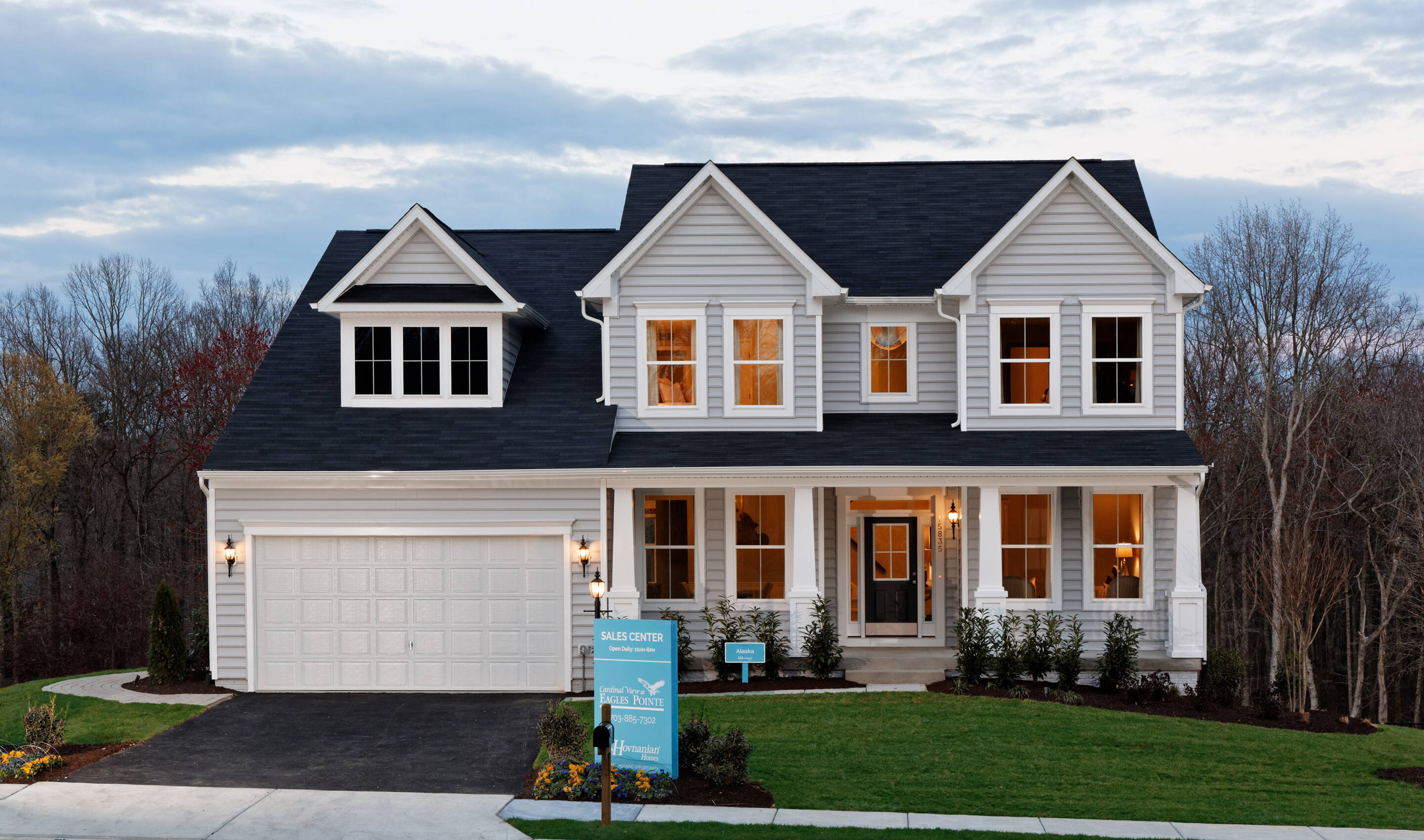 cardinal view at eagles pointe new homes