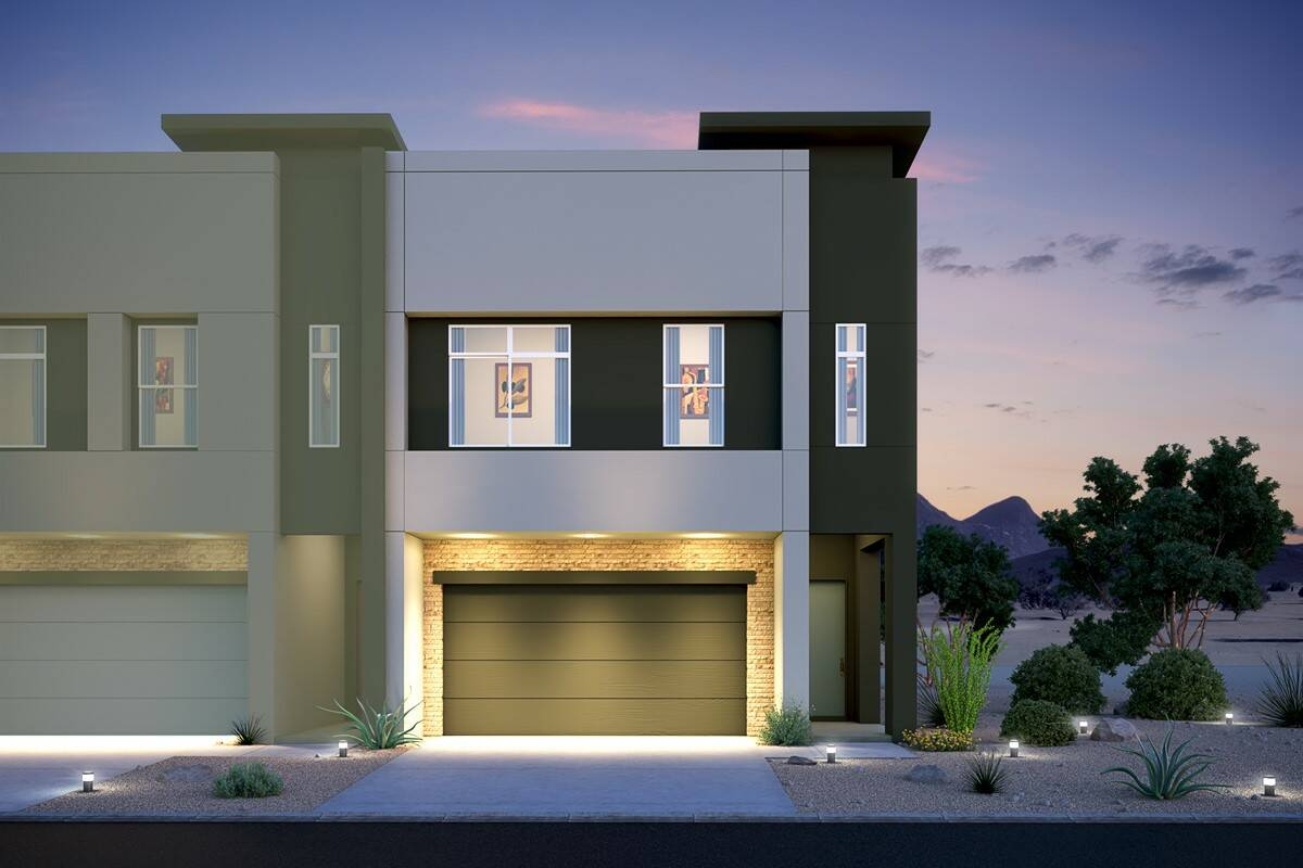 paradise end unit new homes pinnacle at union park