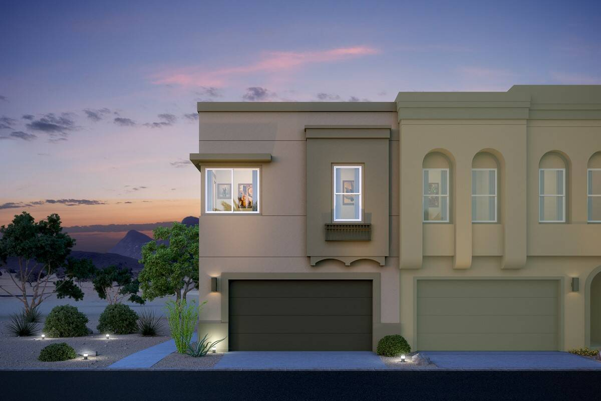 camelback end unit new homes pinnacle at silverstone
