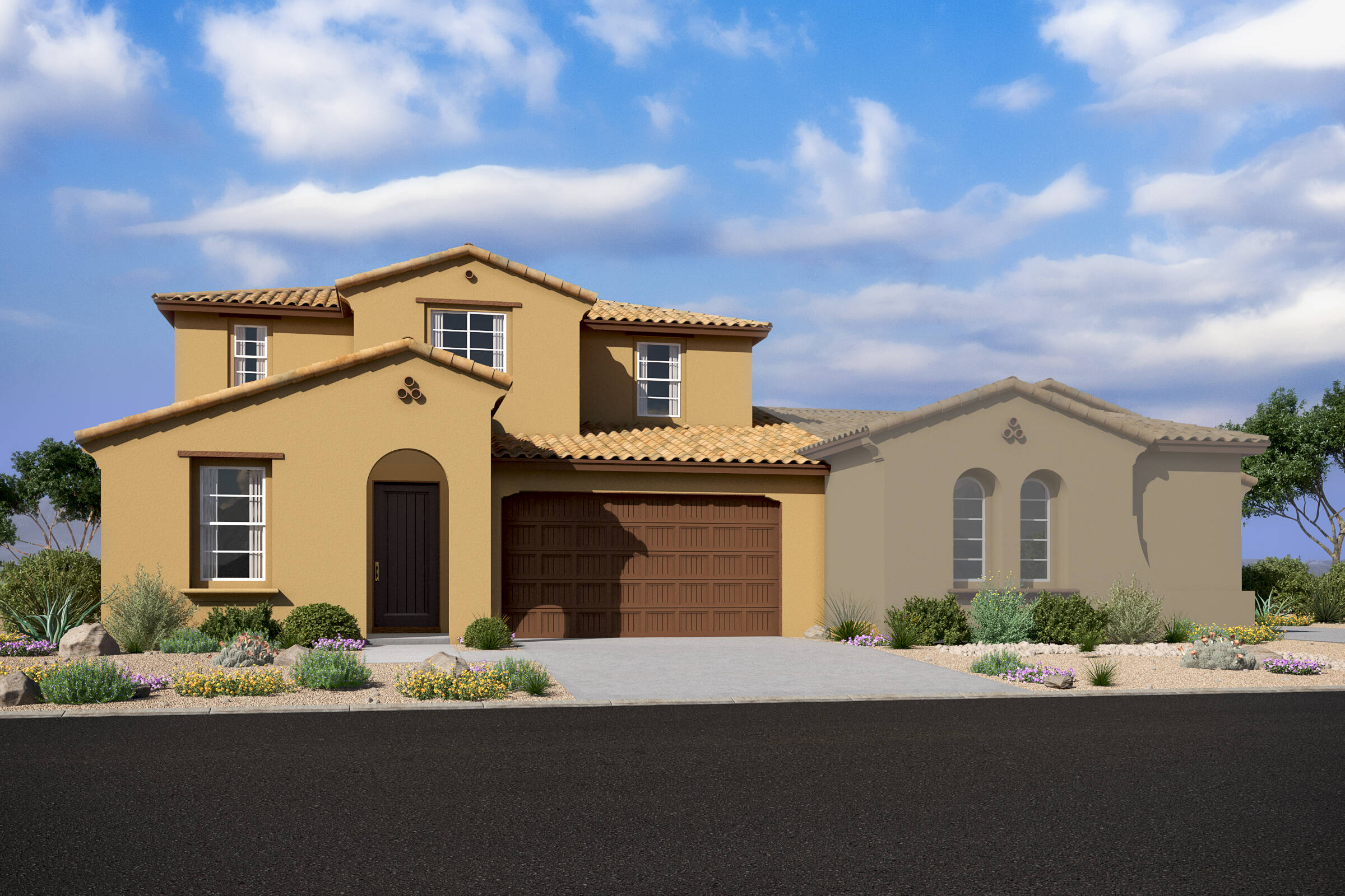 meridian spanish colonial d new homes silverstone with ascent