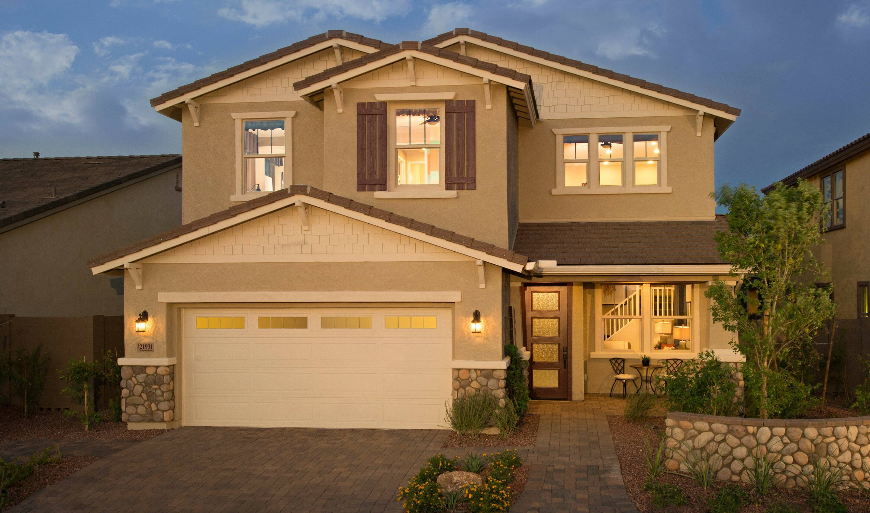 traditions at the meadows new homes in peoria az - Images For Homes
