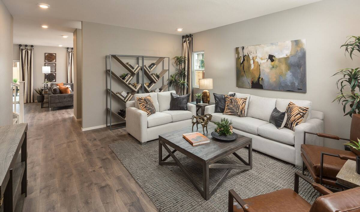 primrose living room new homes aspire at village center aspot