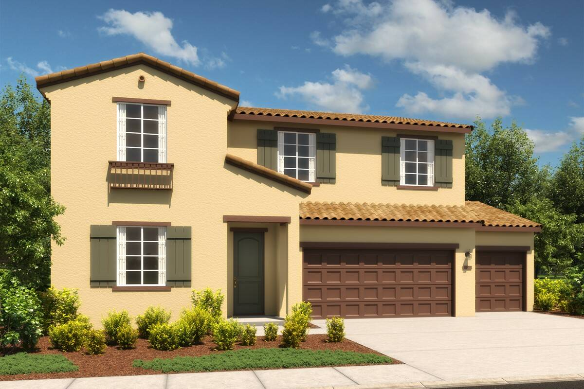 plan 3-5034-ginger-a-spanish-new homes bennett ranch-elev