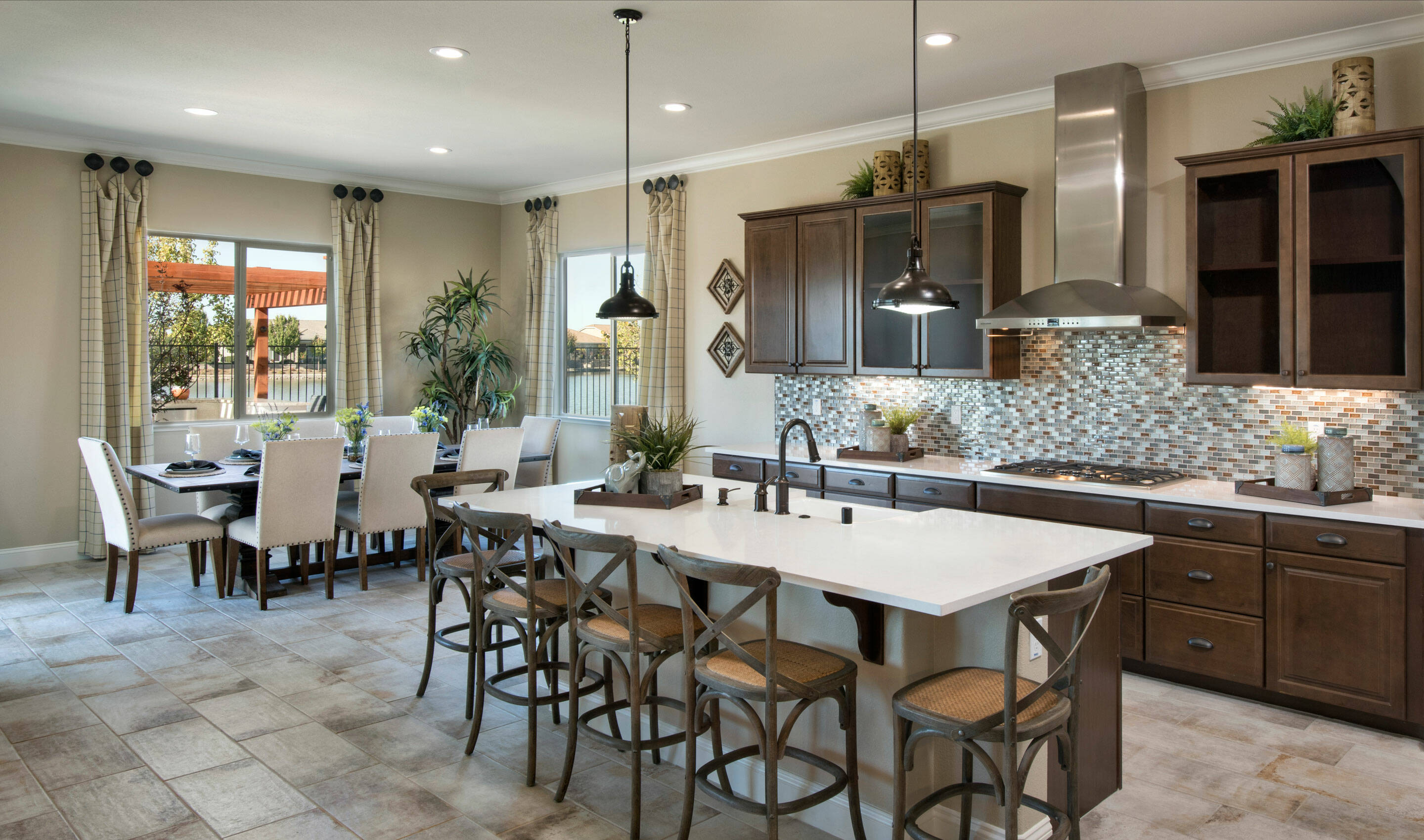 orchard kitchen dining new homes lakeside at westshore