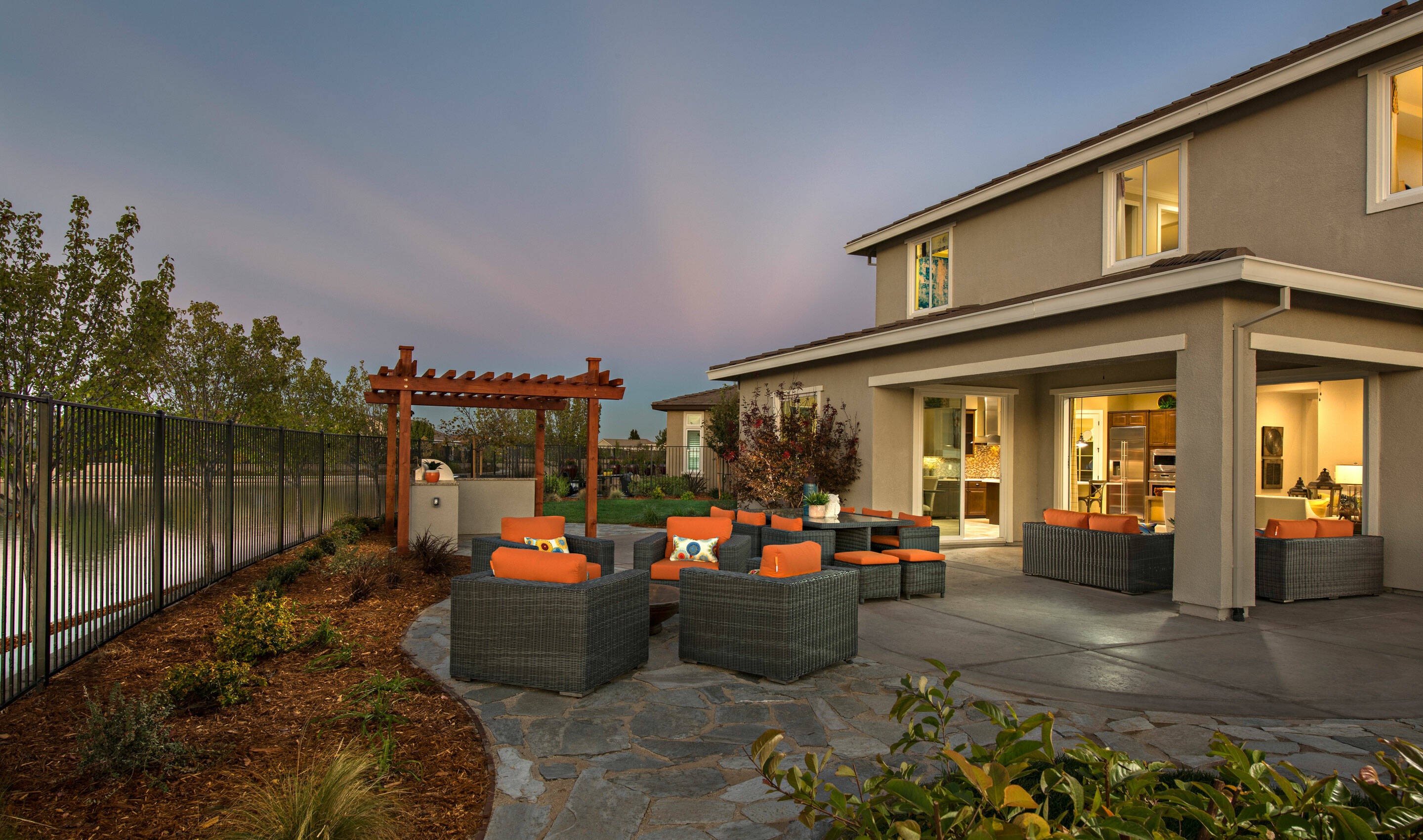 orchard patio new homes lakeside at westshore