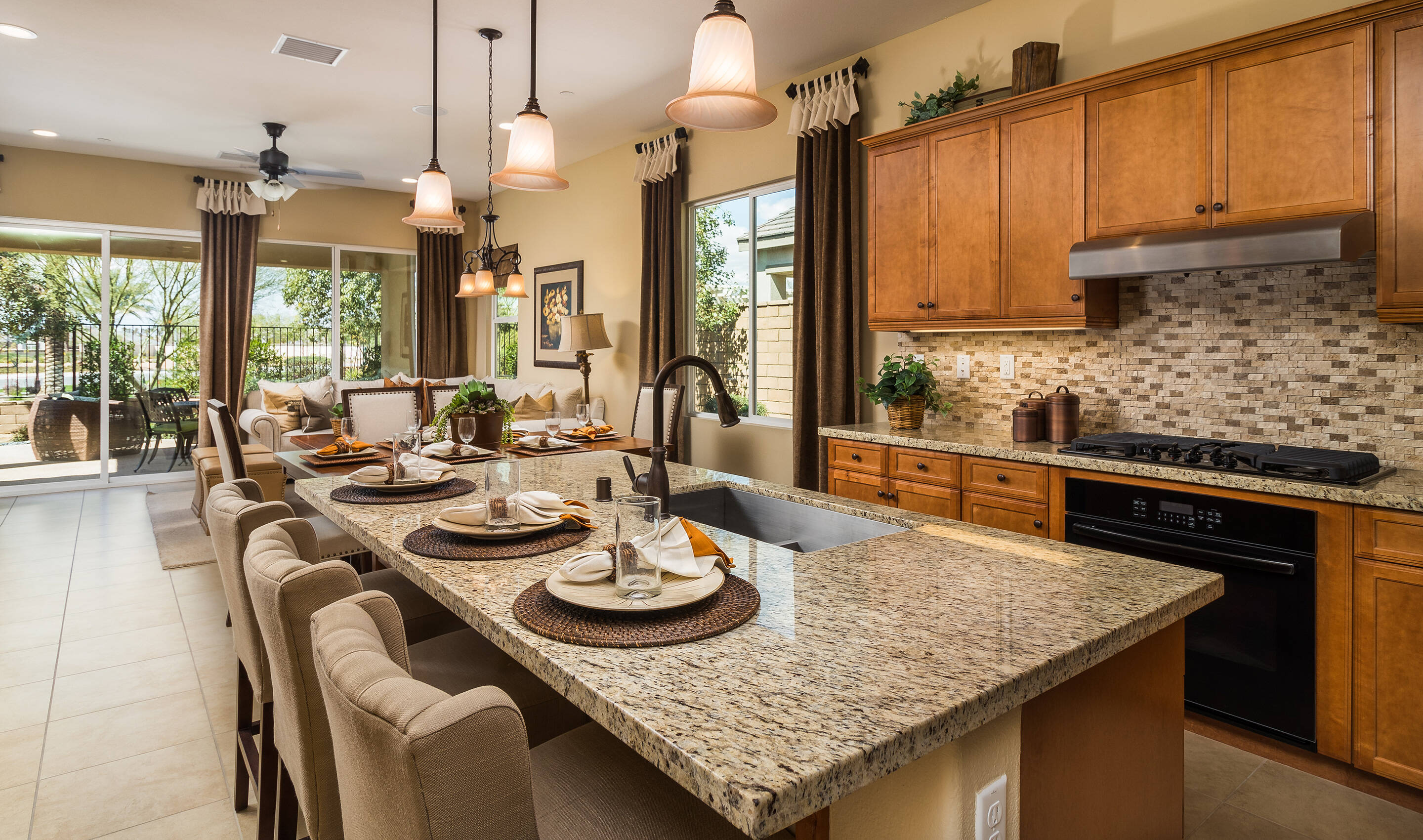 collage-kitchen-island-four-seasons-at-terra-lago-indio-ca