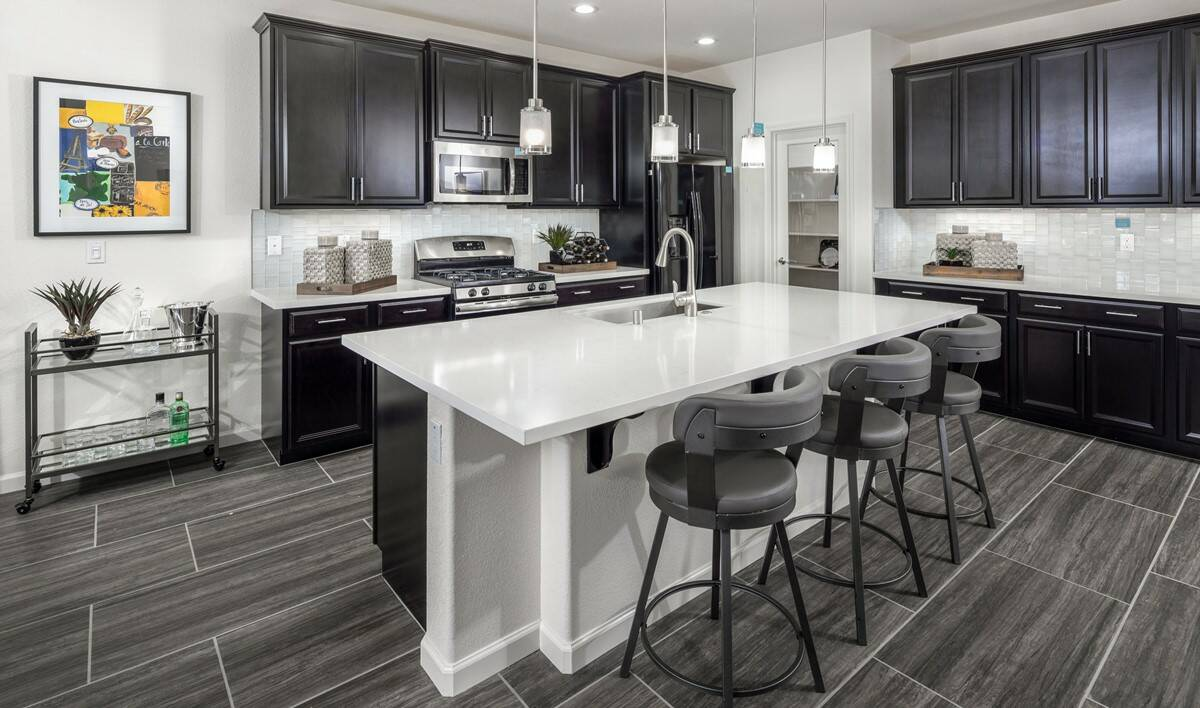 begonia kitchen new homes rio del oro