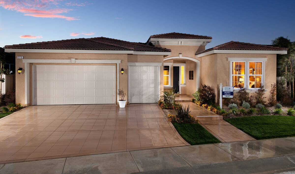 K Hovnanians Four Seasons At Beaumont New Homes In Beaumont Ca