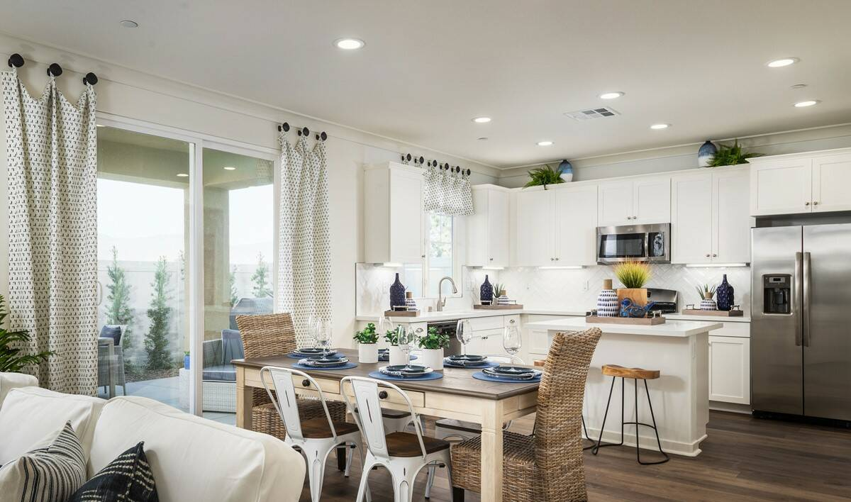 festival dining kitchen new homes lake elsinore