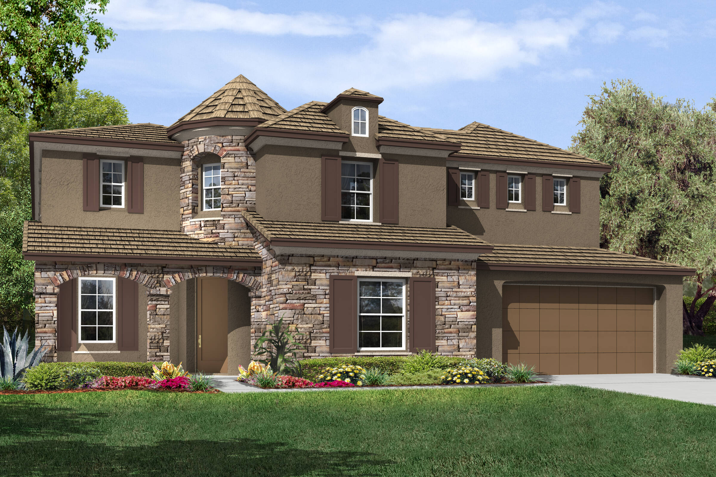 Plan 1-Belmont-B-Country French