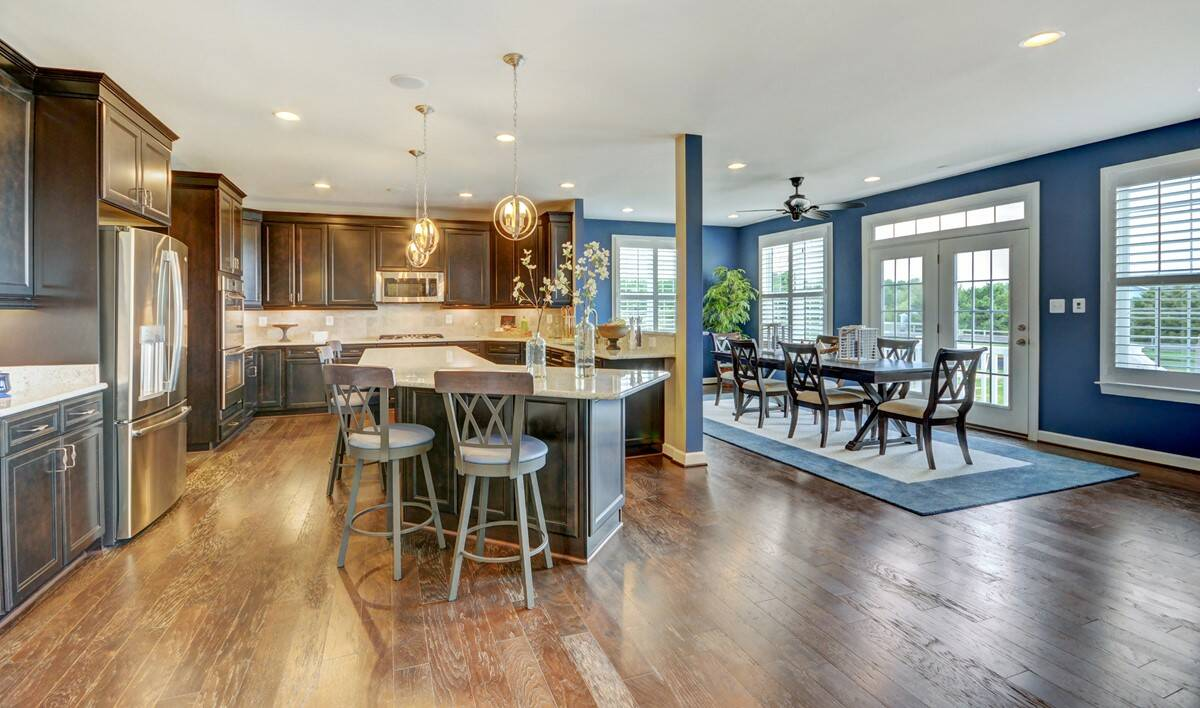 kitchen in rhode island new homes at cedar lane