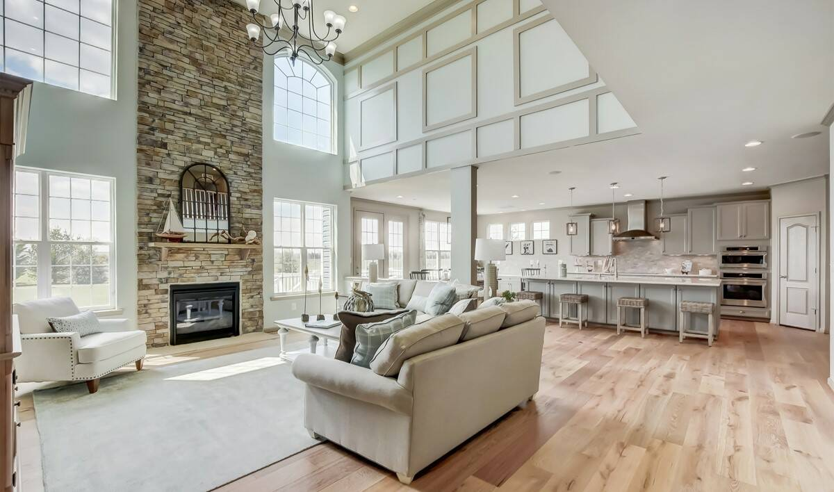Knollac Acres Delaware family room-1