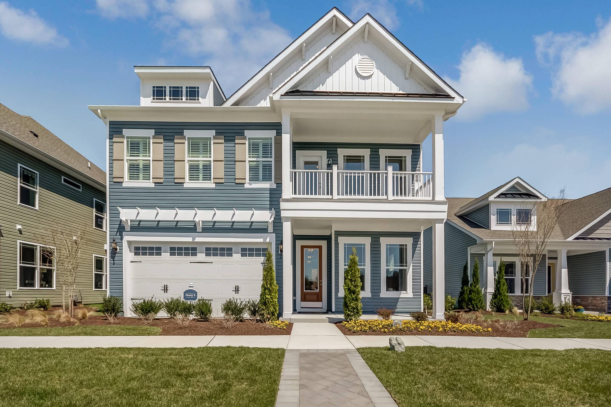 dewey II cs new homes at ocean view beach club in delaware