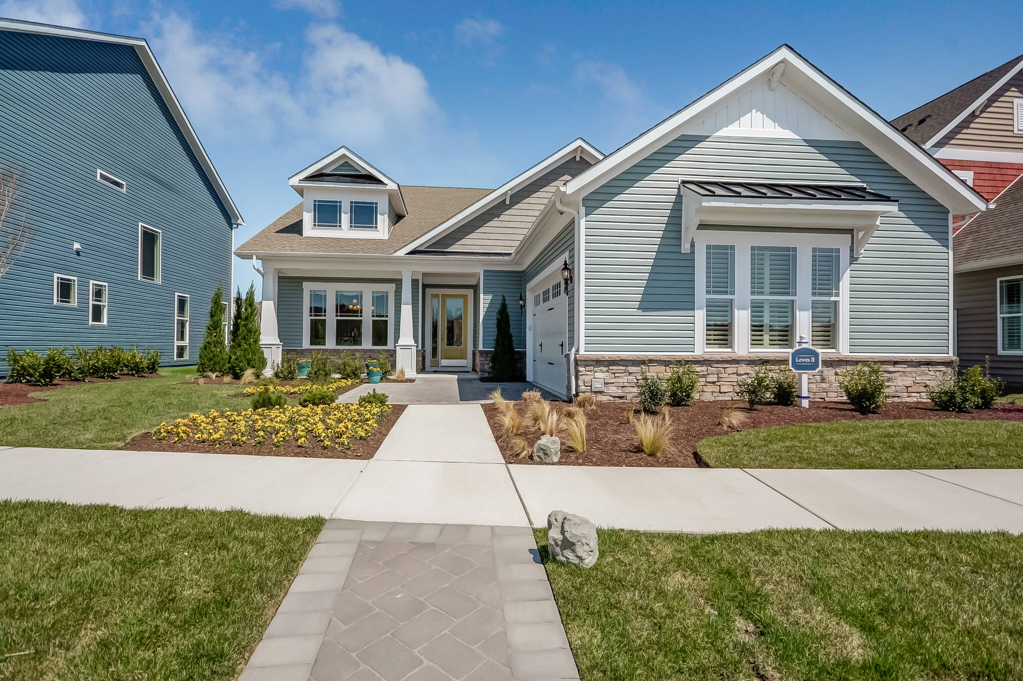 lewes II bs new homes at ocean view beach club in delaware