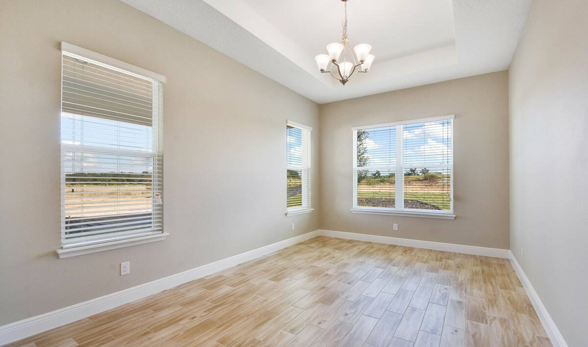 dining room 2 in the Barbados in Four Seasons at Orlando new homes in Orlando Florida - Copy