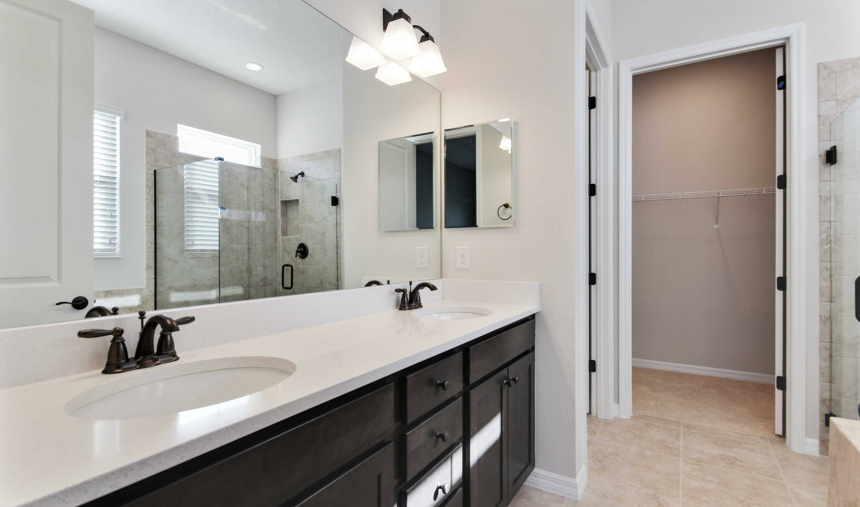 dual sinks owners spa bath in dunmore in four seasons at orlando new homes in orlando florida