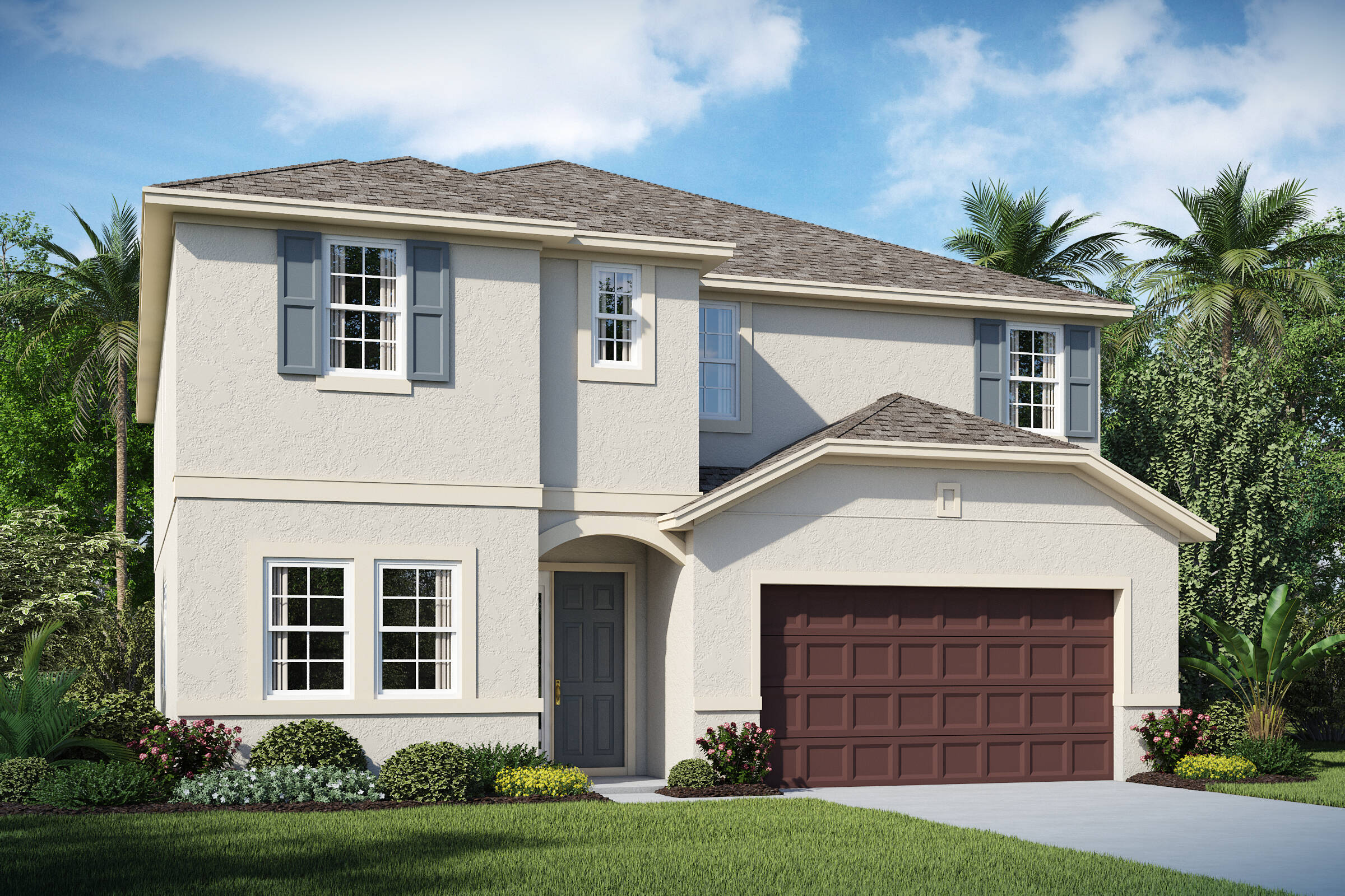 Michelson A elev new homes in orlando florida