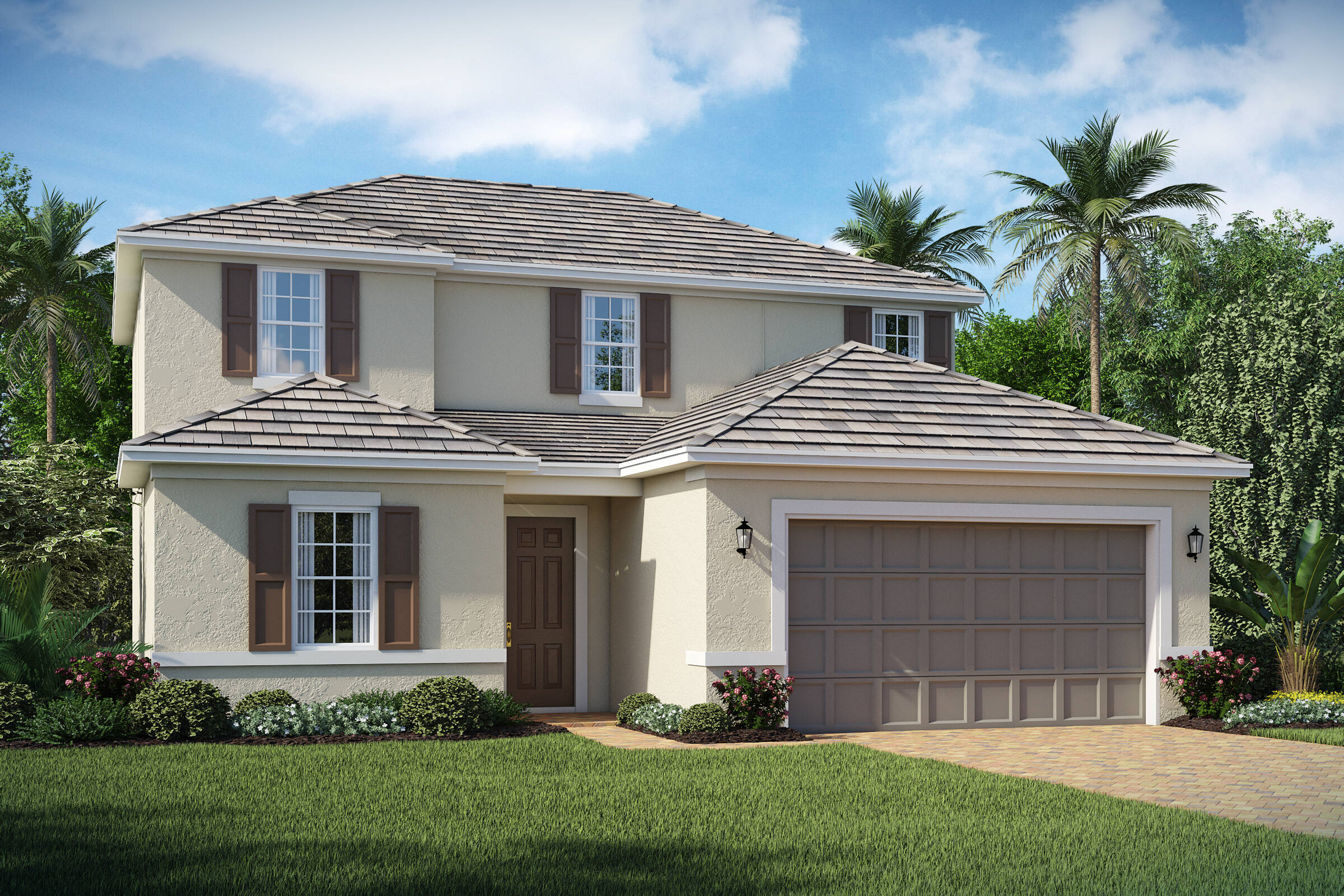 Bessemer A exterior lake florence preserve new homes in orlando florida