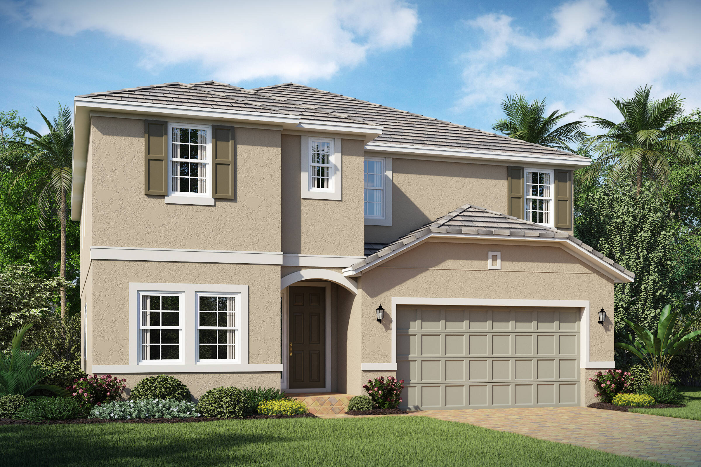 Michelson A exterior lake florence preserve new homes in orlando florida
