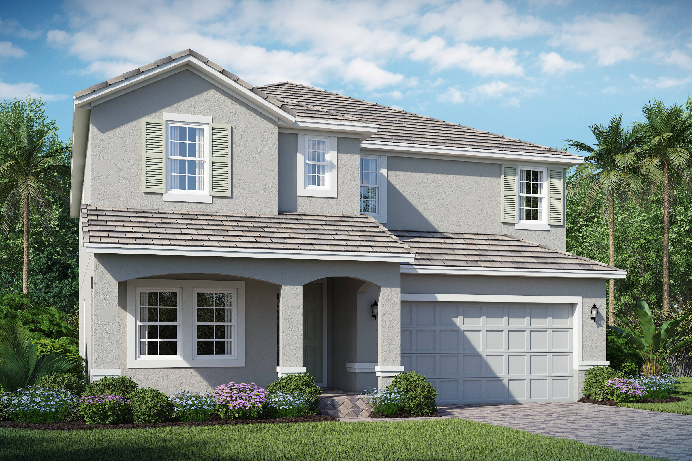 Michelson B exterior lake florence preserve new homes in orlando