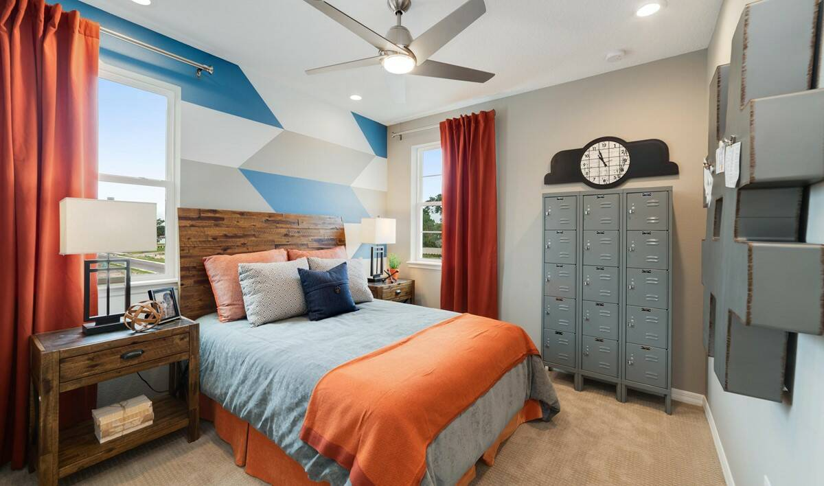 michelson bedroom 2 new homes orlando florida