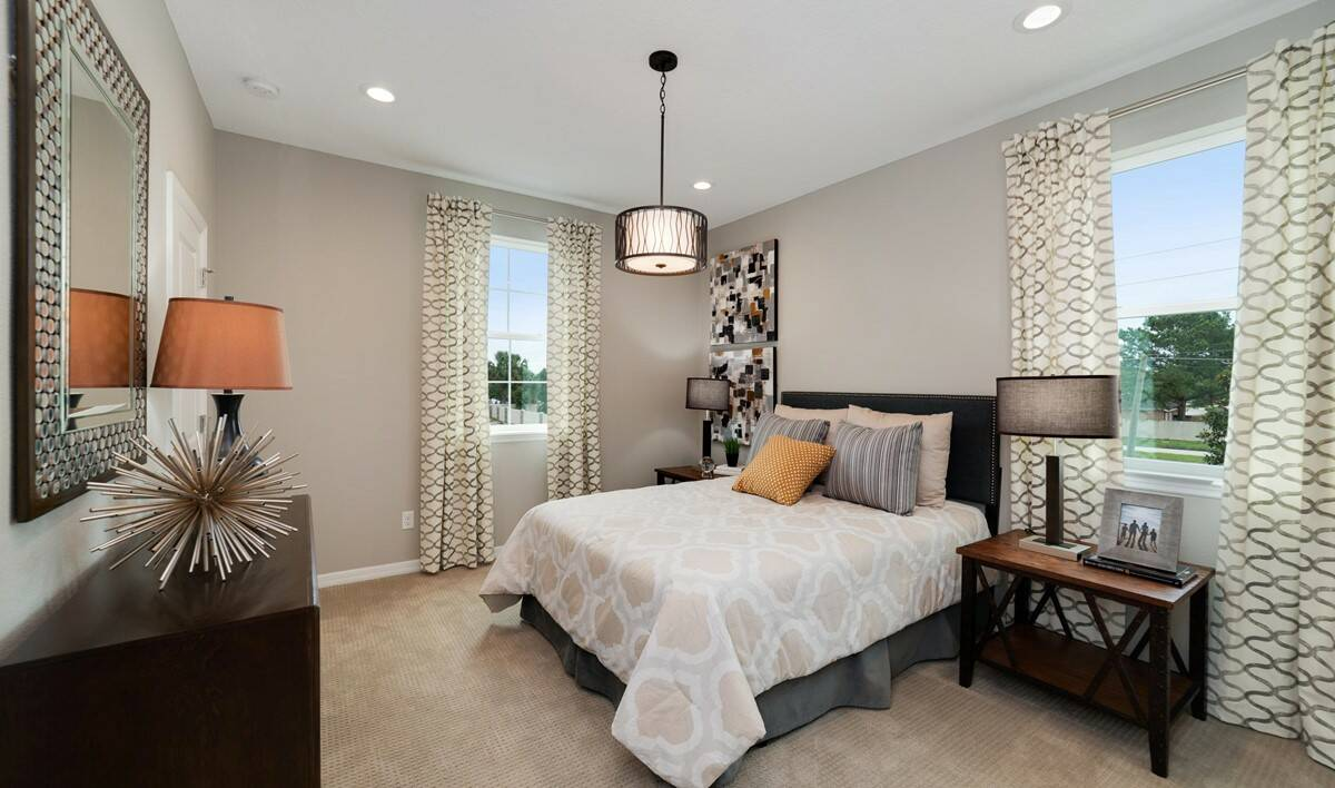 michelson bedroom 4a new homes orlando florida