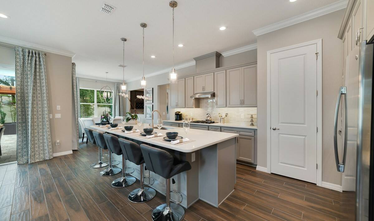 michelson kitchen dining new homes orlando florida