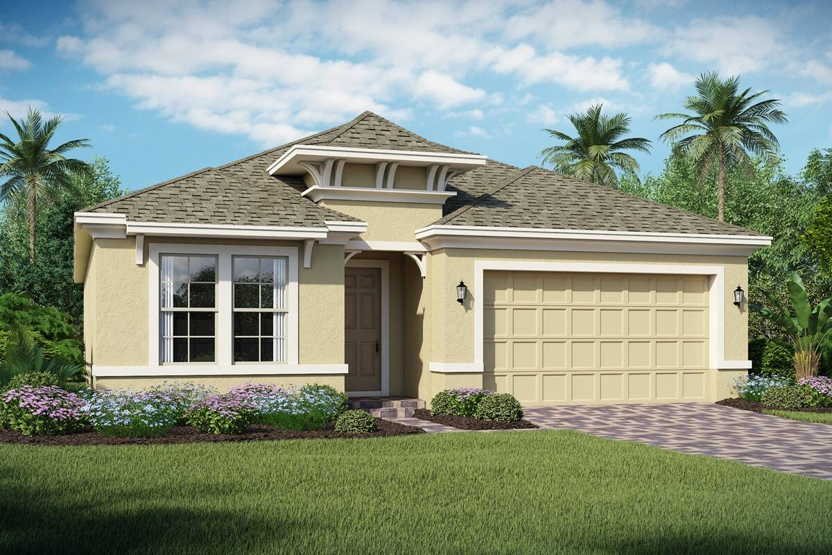 Saint Lucia B new homes orlando florida