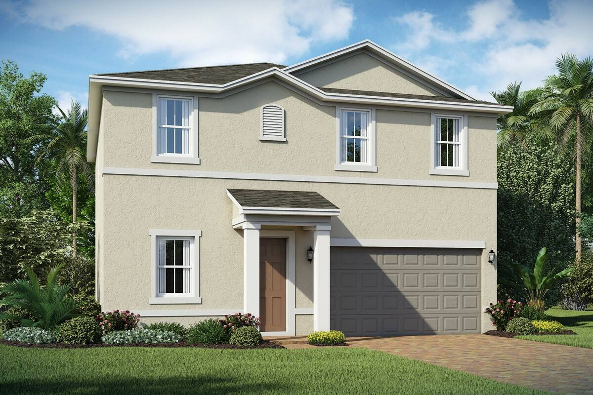 Emberly A elev new homes orlando fl