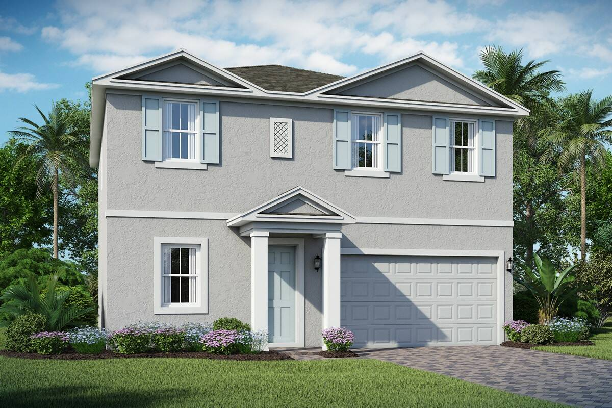 Emberly B elev new homes orlando fl