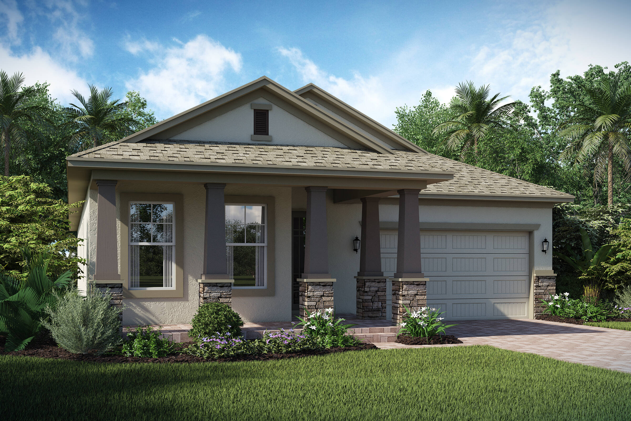 Tompkins C elev new homes in orlando florida