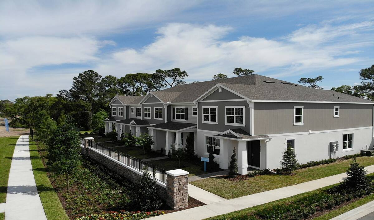 winding bay preserve townhome building winter garden fl