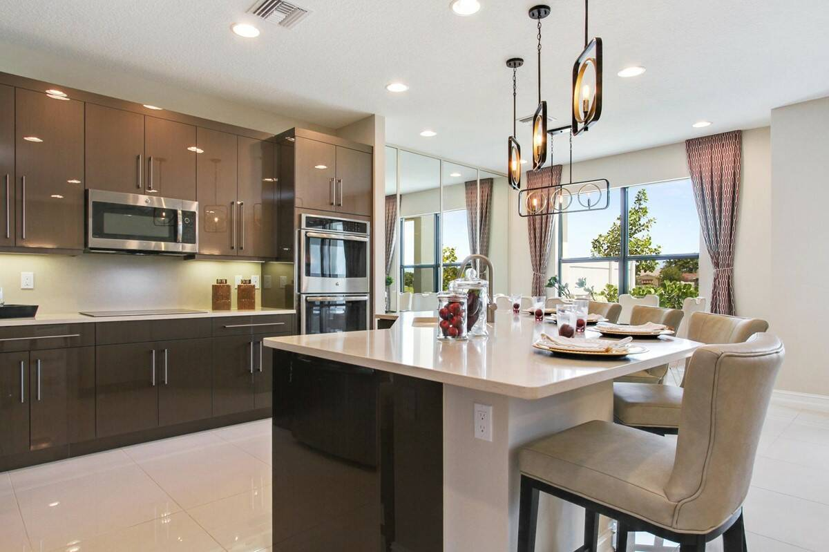 11_kitchen bonaire enclave new homes in boca raton