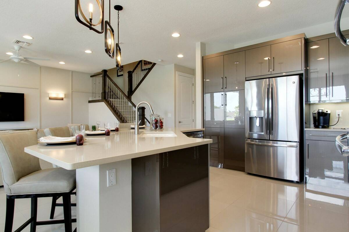 15_kitchen bonaire enclave new homes in boca raton
