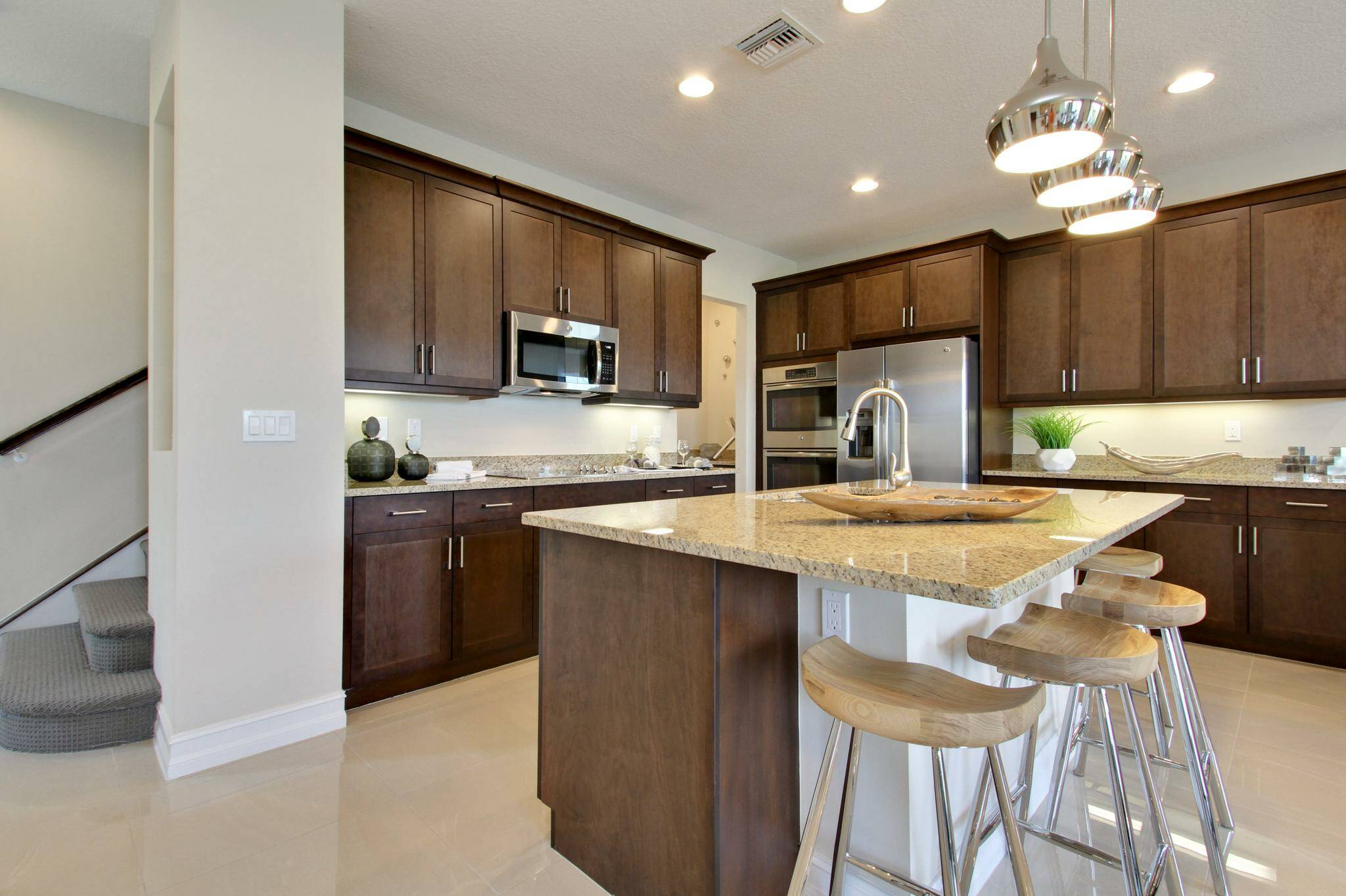 fullerton enclave kitchen a new homes in boca raton florida