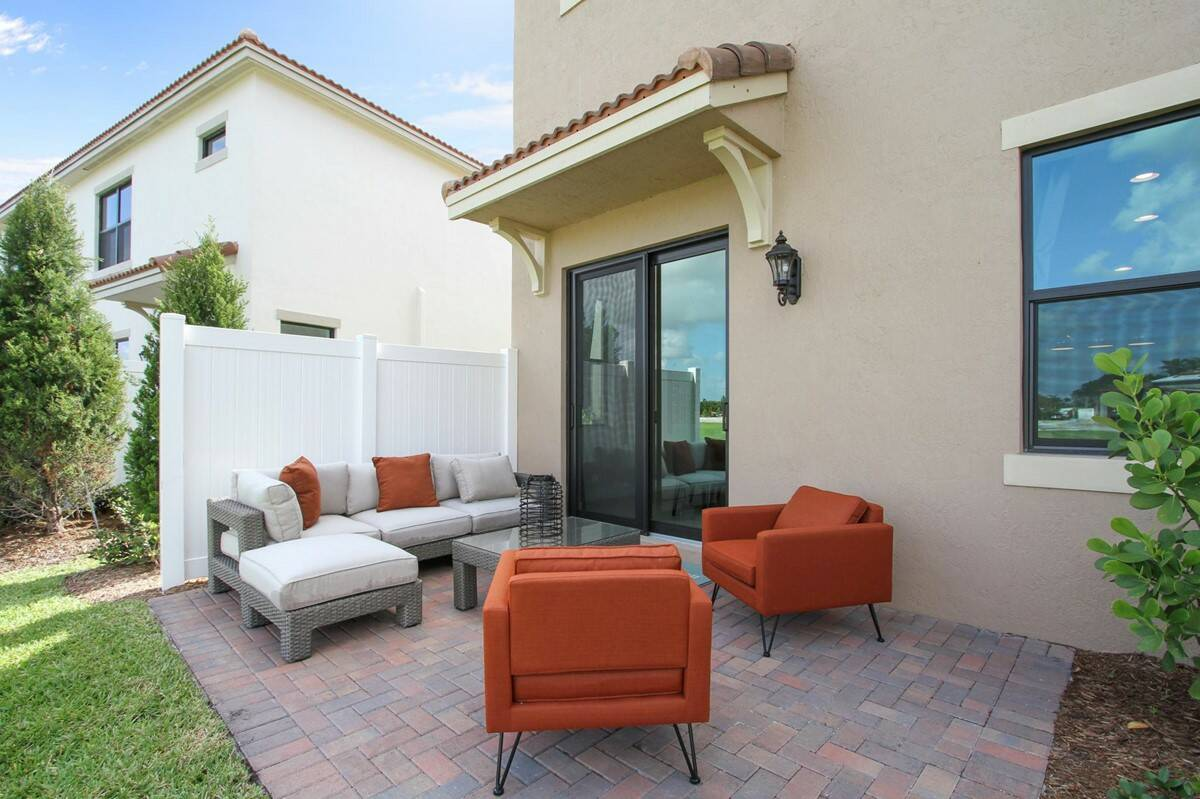 fullerton enclave patio new homes in boca raton florida