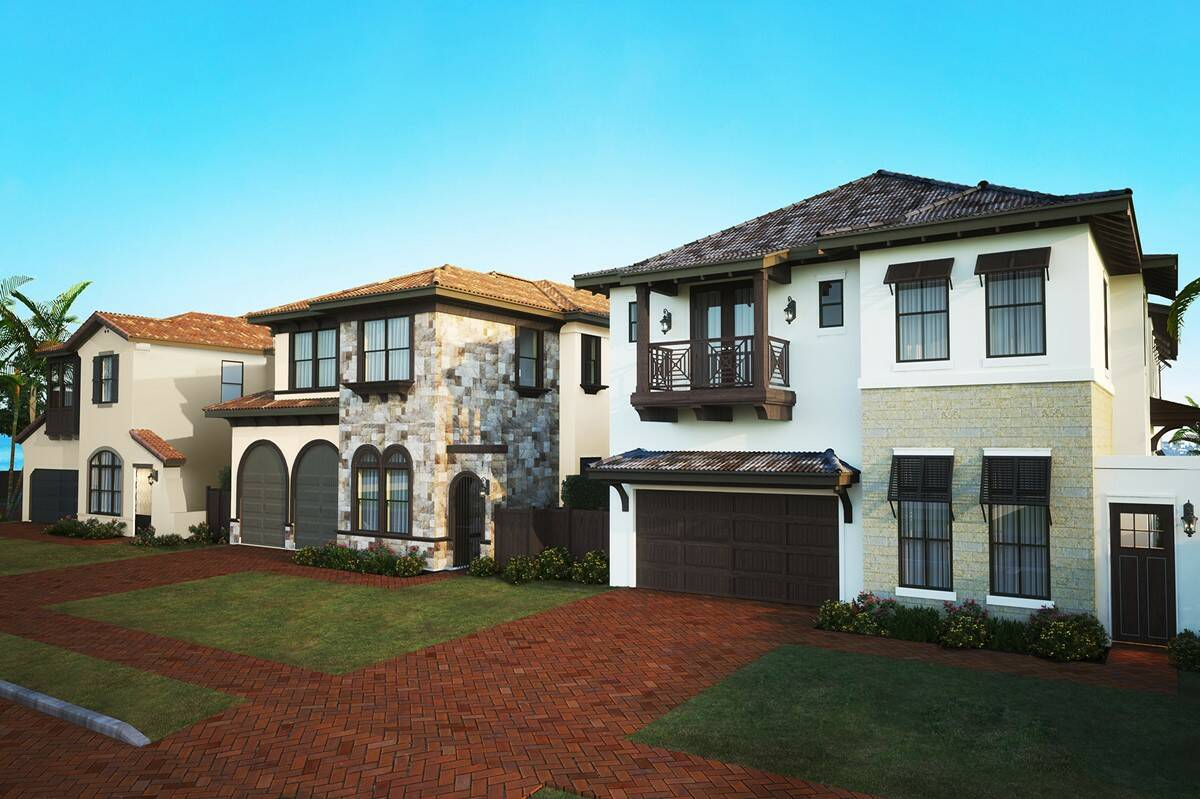 majestic front elevations in boynton beach florida at casa del mar