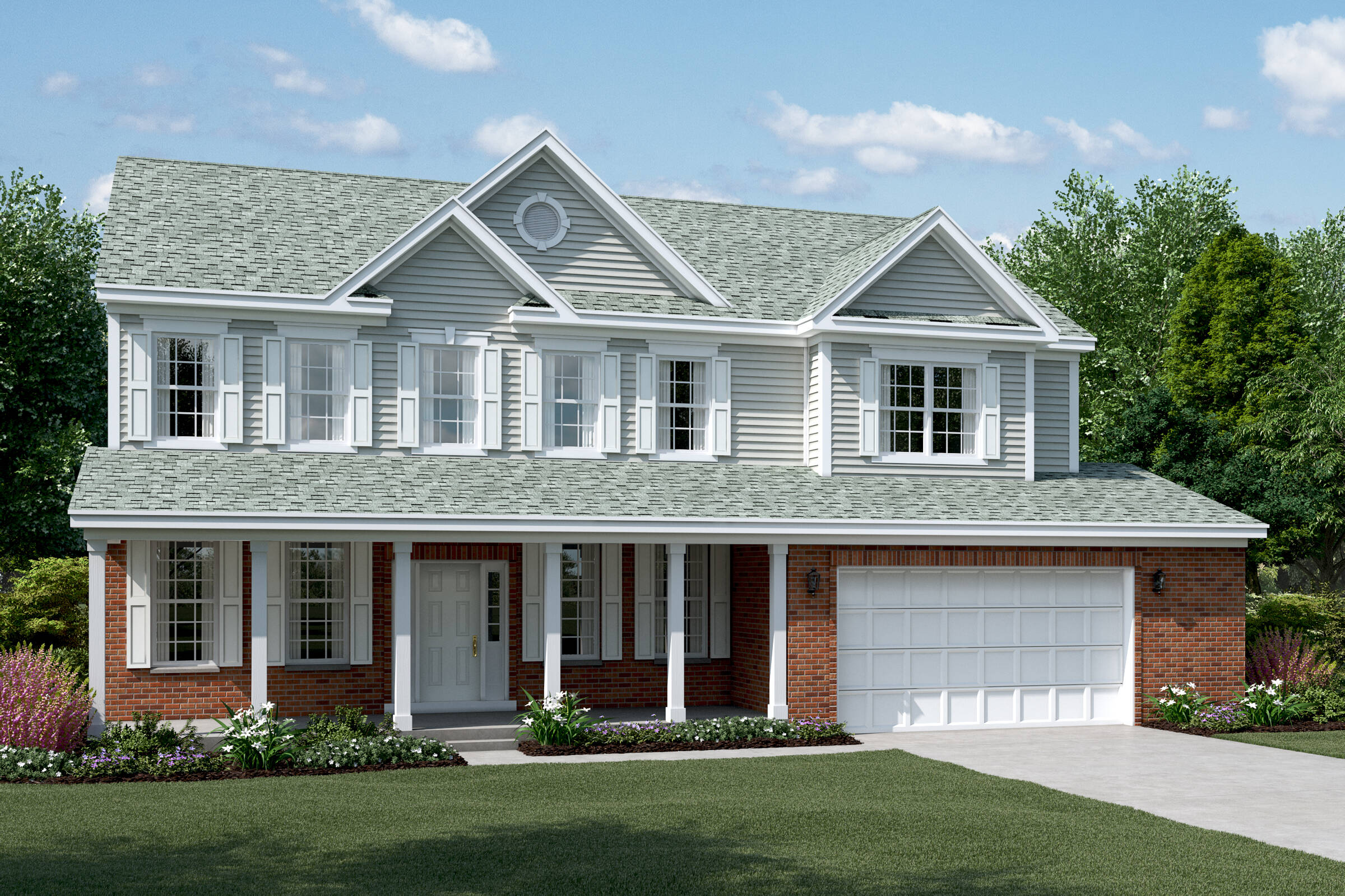 dover cb brand new homes manhattan illinois