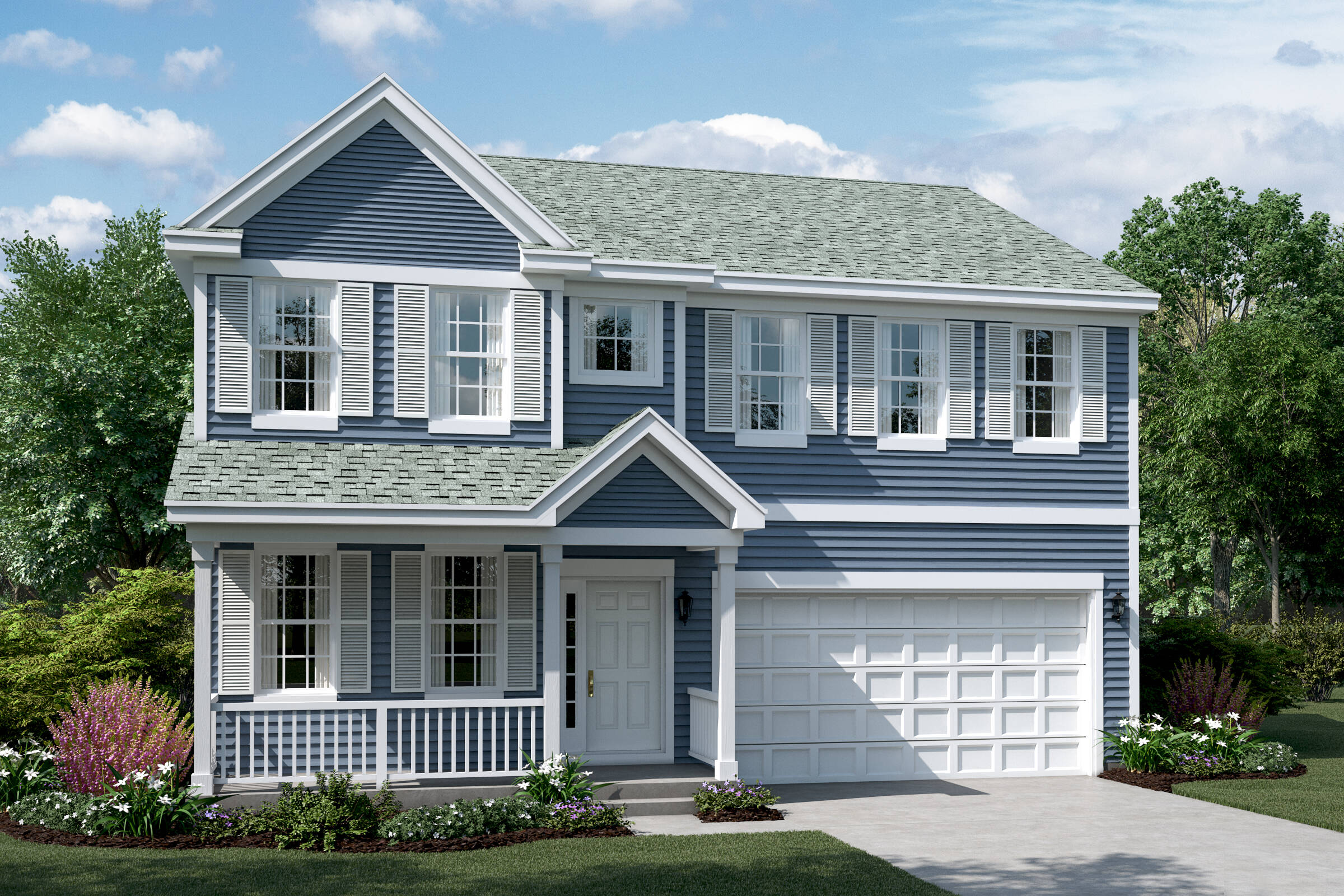 clover c siding elevation new homes in south elgin