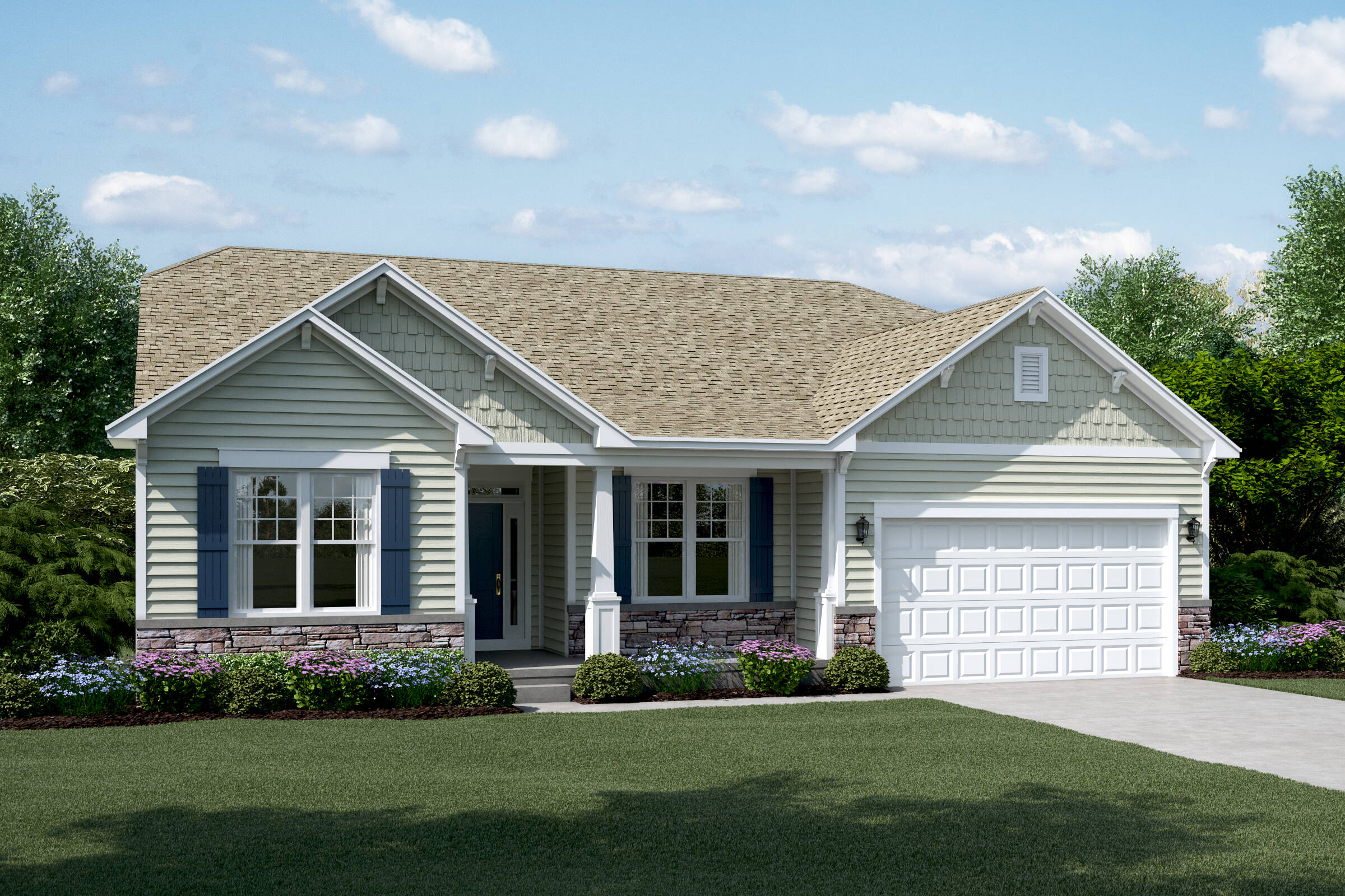 rockford e stone sagebrook new homes in south elgin