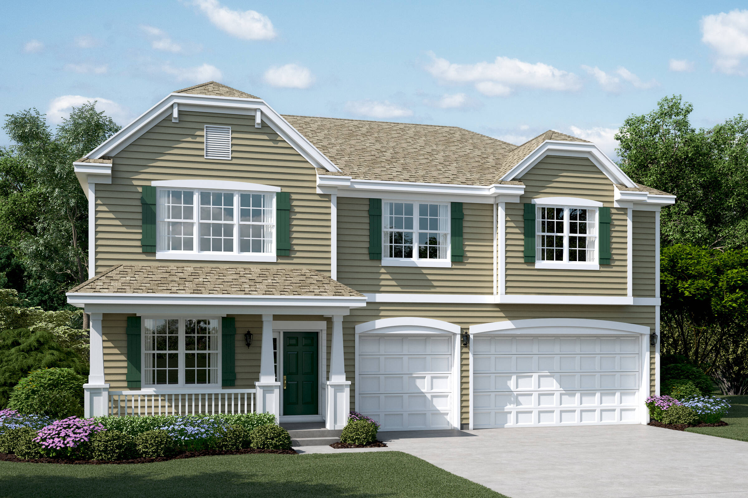yorkshire e sagebrook single family homes in south elgin