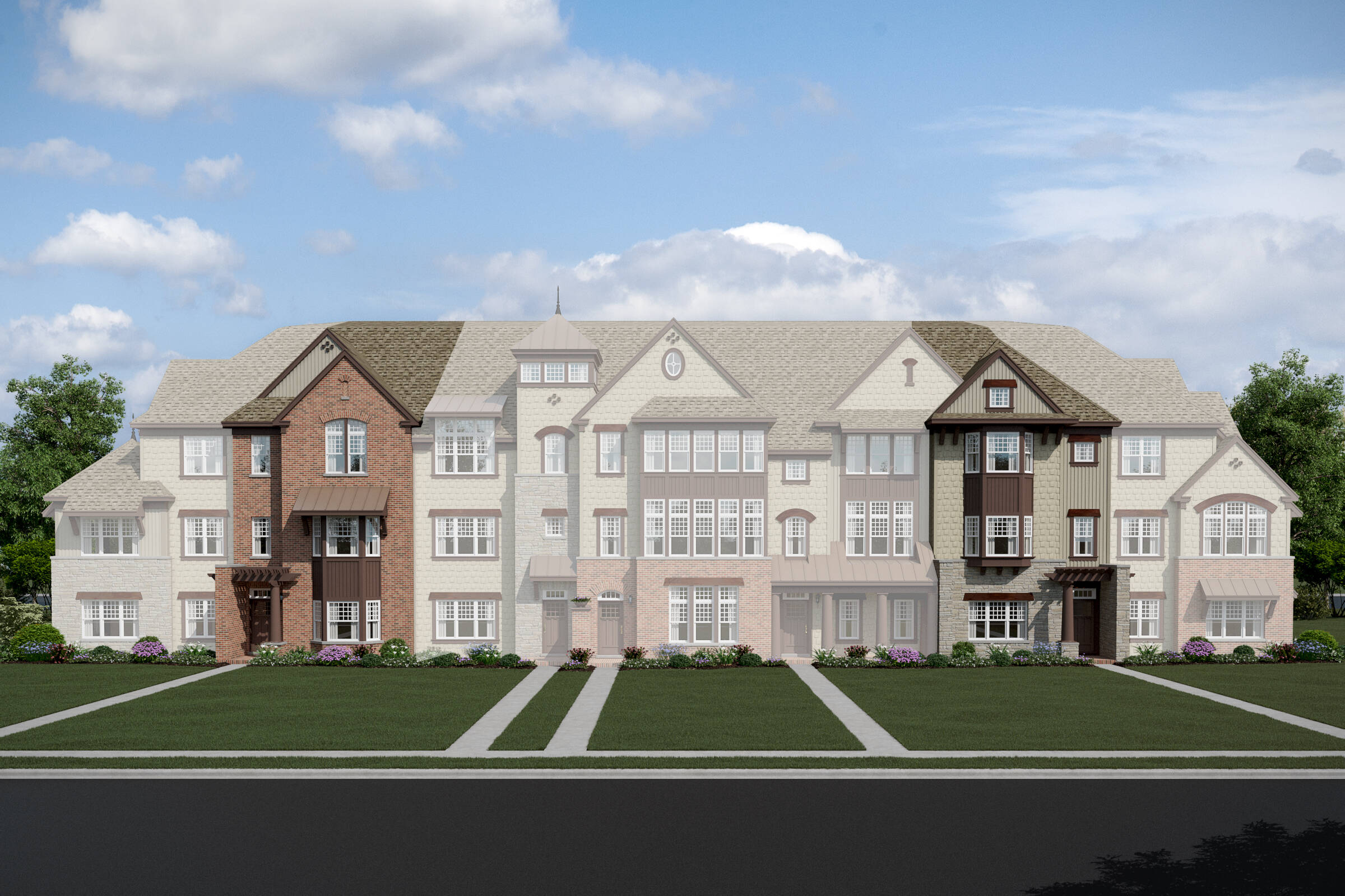 Parkside at Libertyville-7 Unit TH-Erie