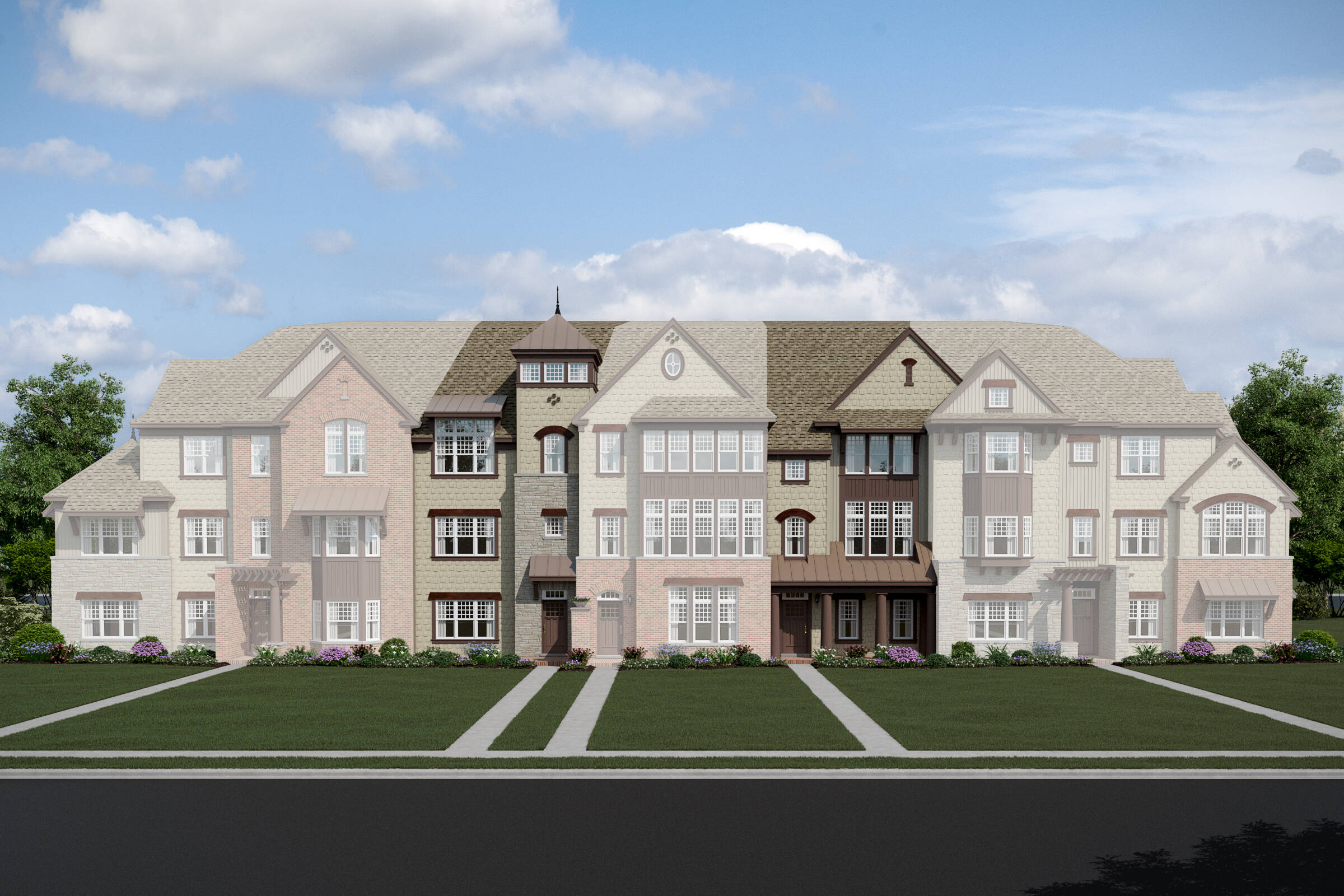 Parkside at Libertyville-7 Unit TH-Huron