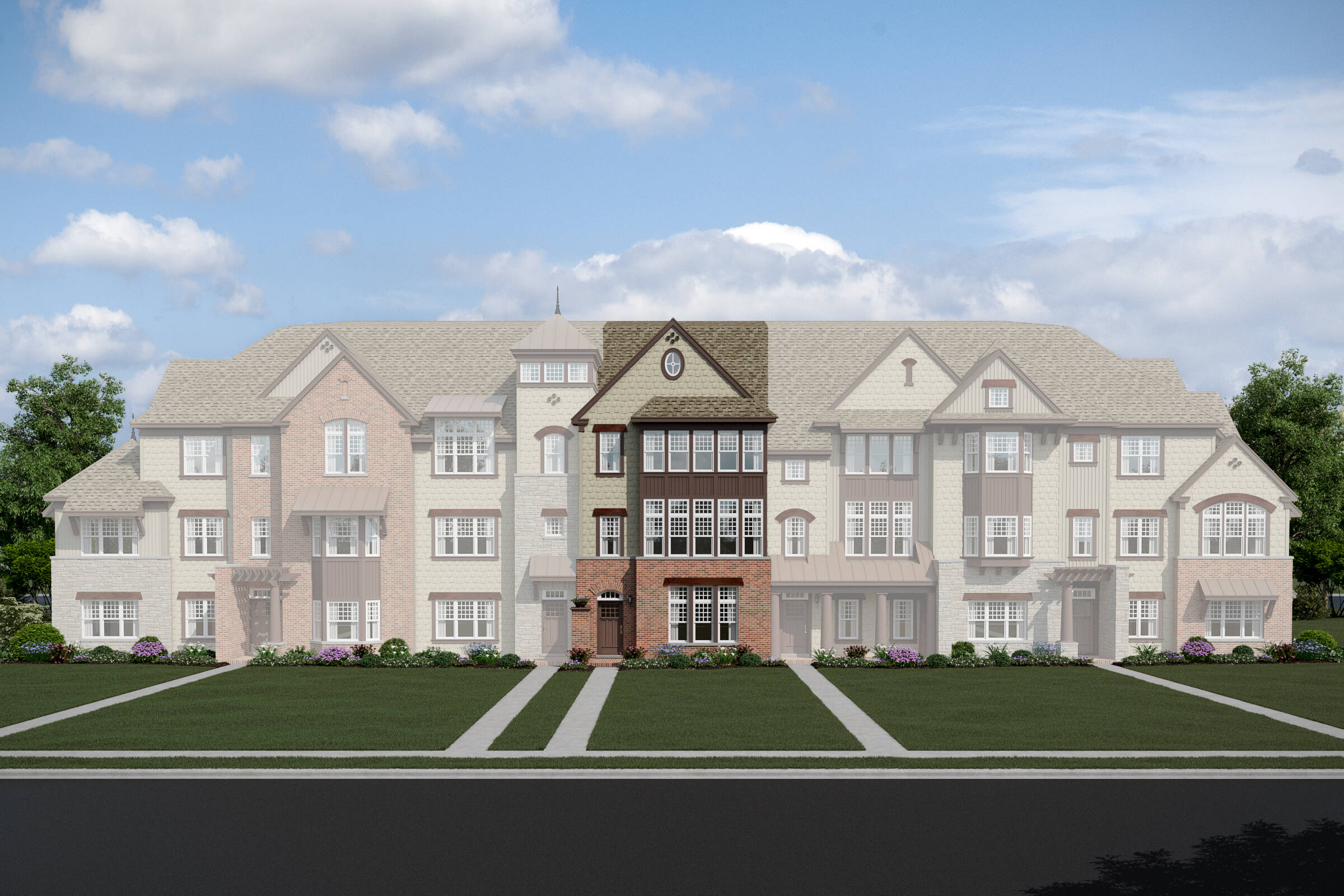 Parkside at Libertyville-7 Unit TH-Superior