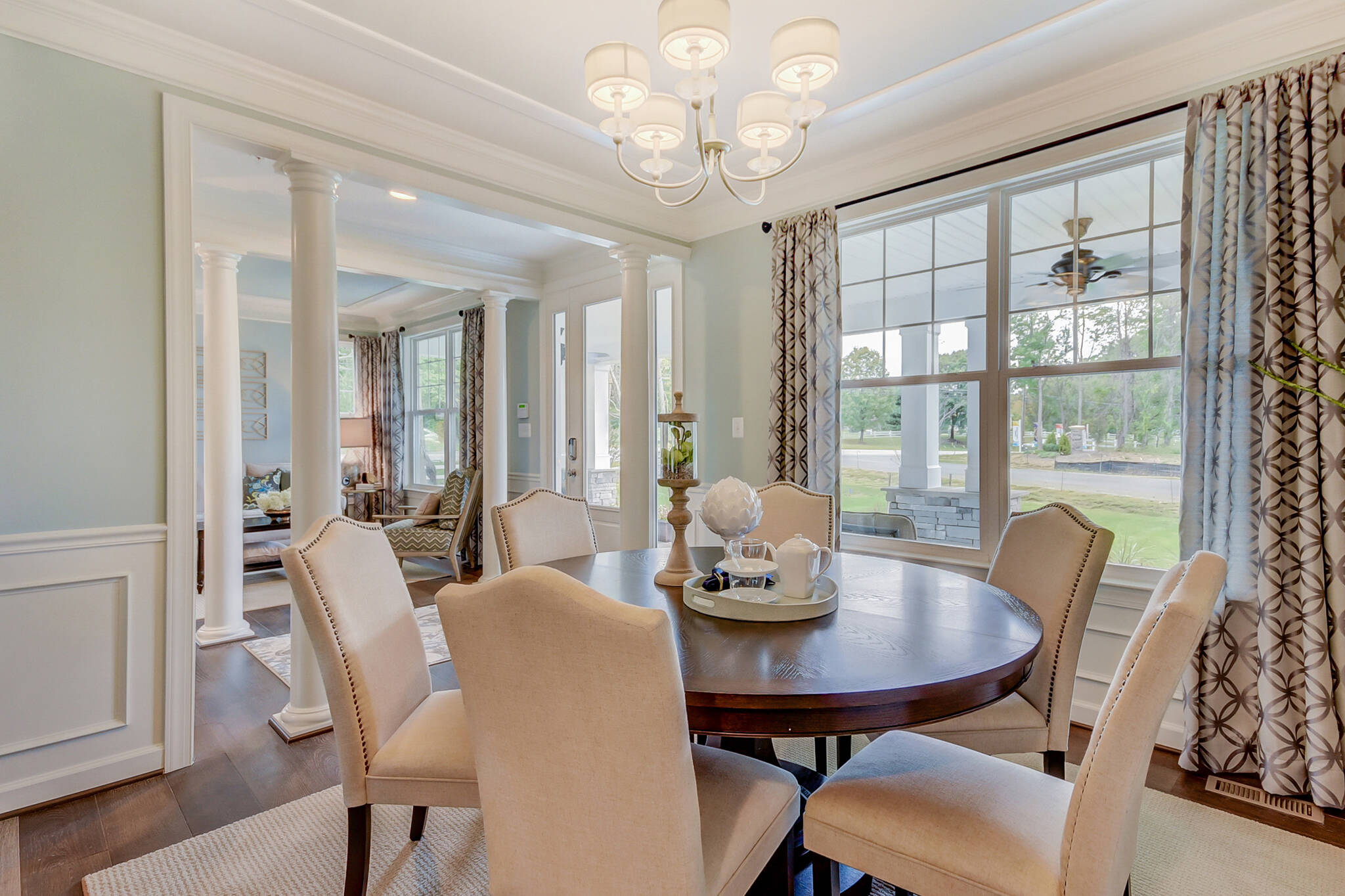 delaware dining room new homes at ashers farm