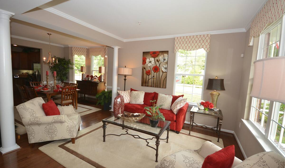 wedgewood living room new homes at eden terrace
