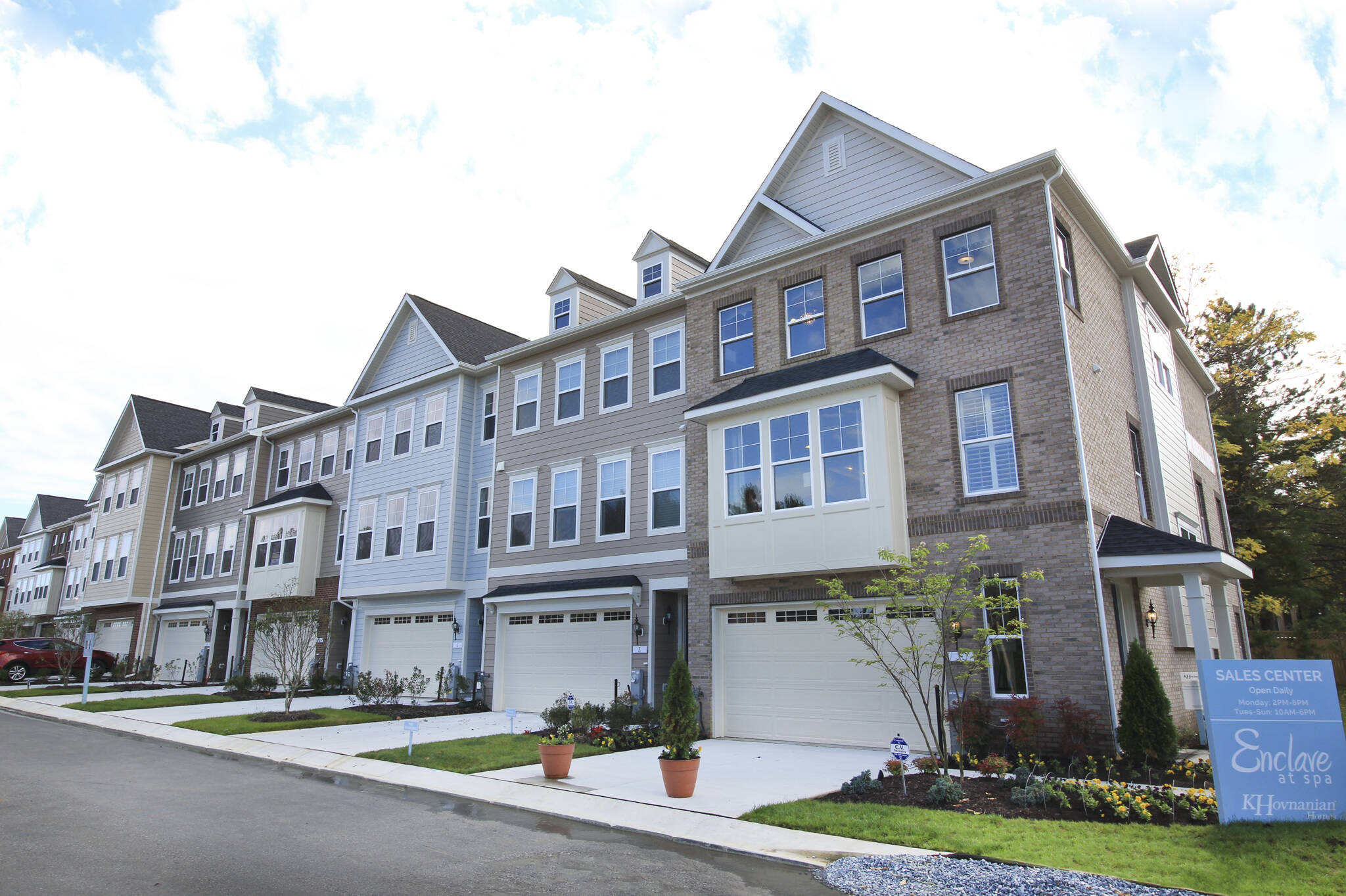 hopkins c new homes at enclave at spa in maryland