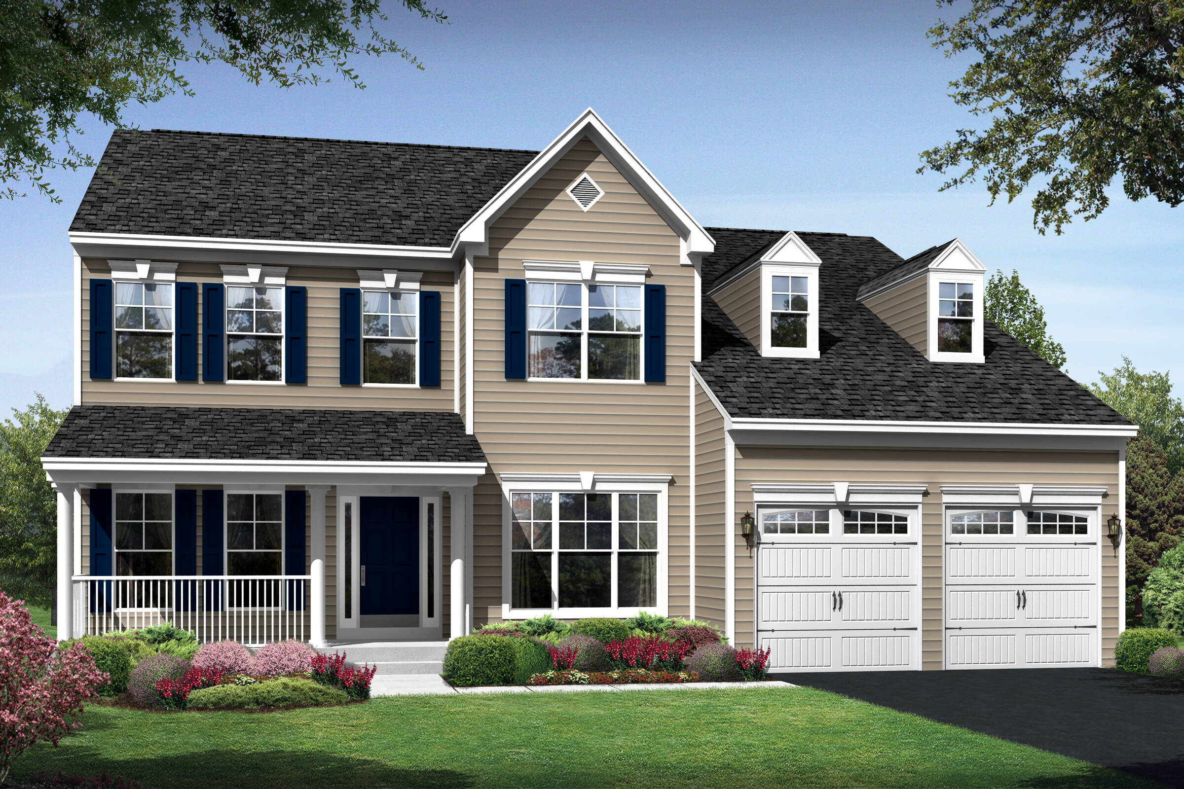 alaska country new homes at magness farm in maryland
