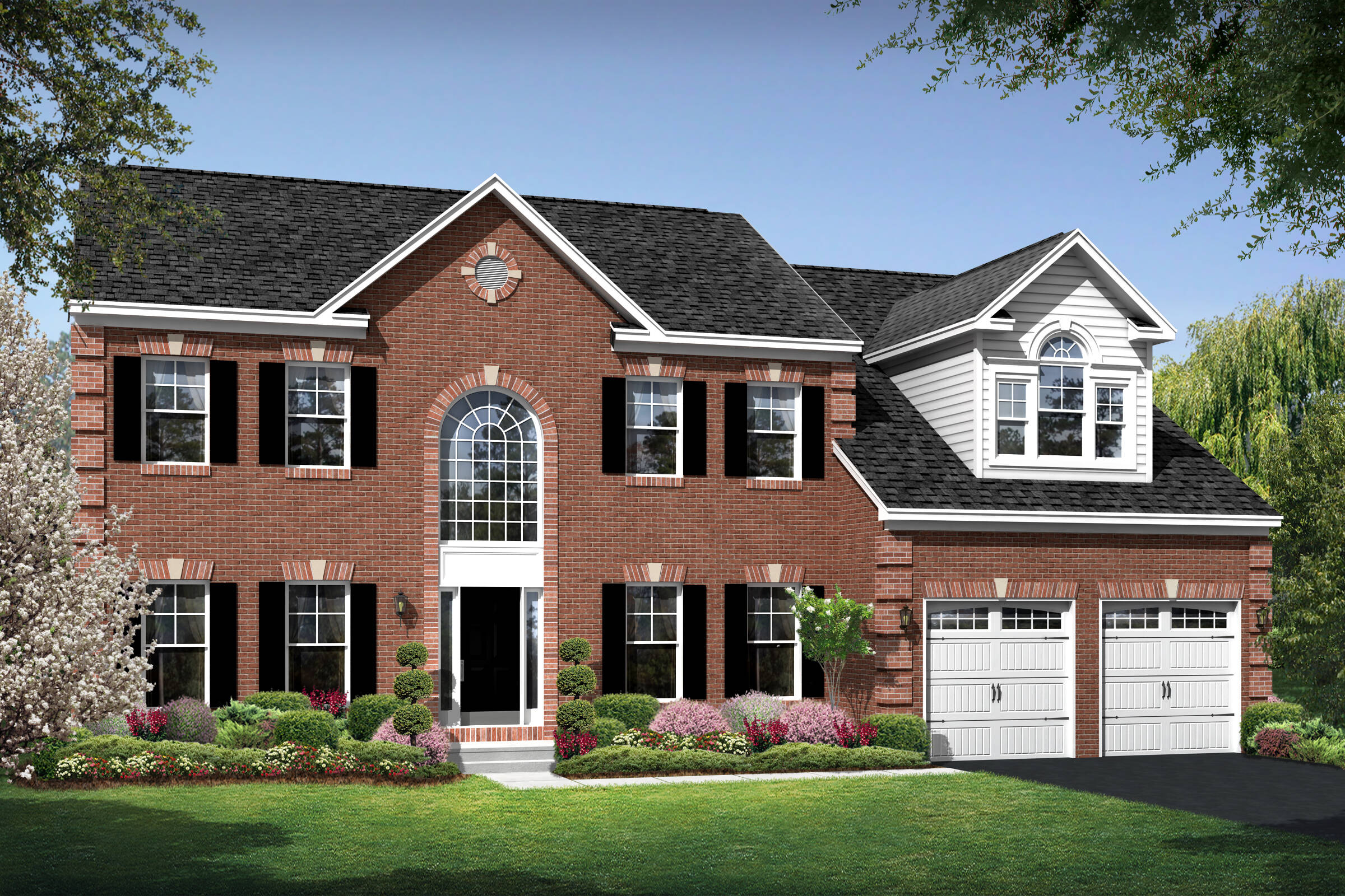 colorado traditional new homes at magness farm in maryland