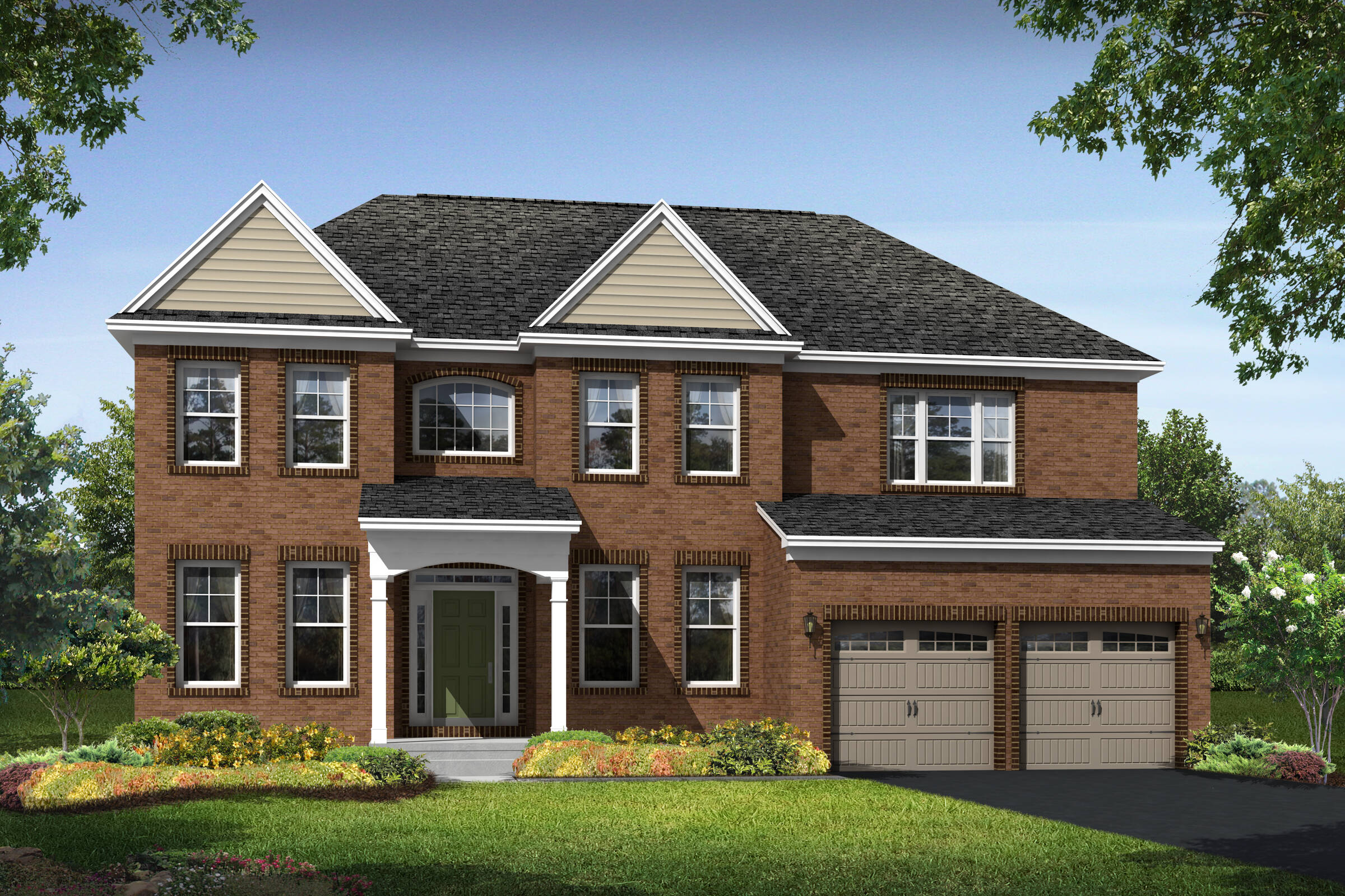 dover h new homes at magness farm in maryland